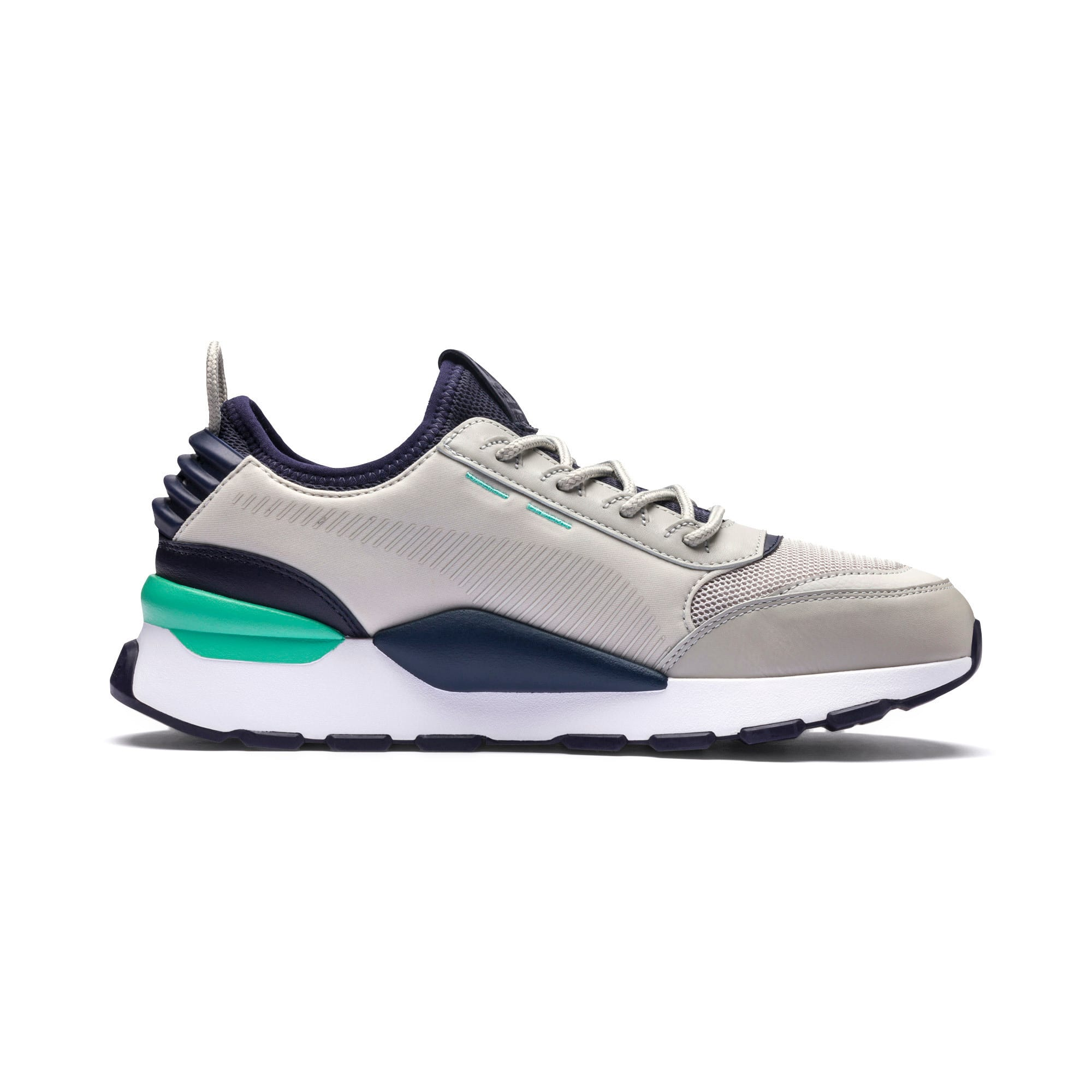 Thumbnail 6 of RS-0 TRACKS Trainers, Gray Violet-Puma New Navy, medium