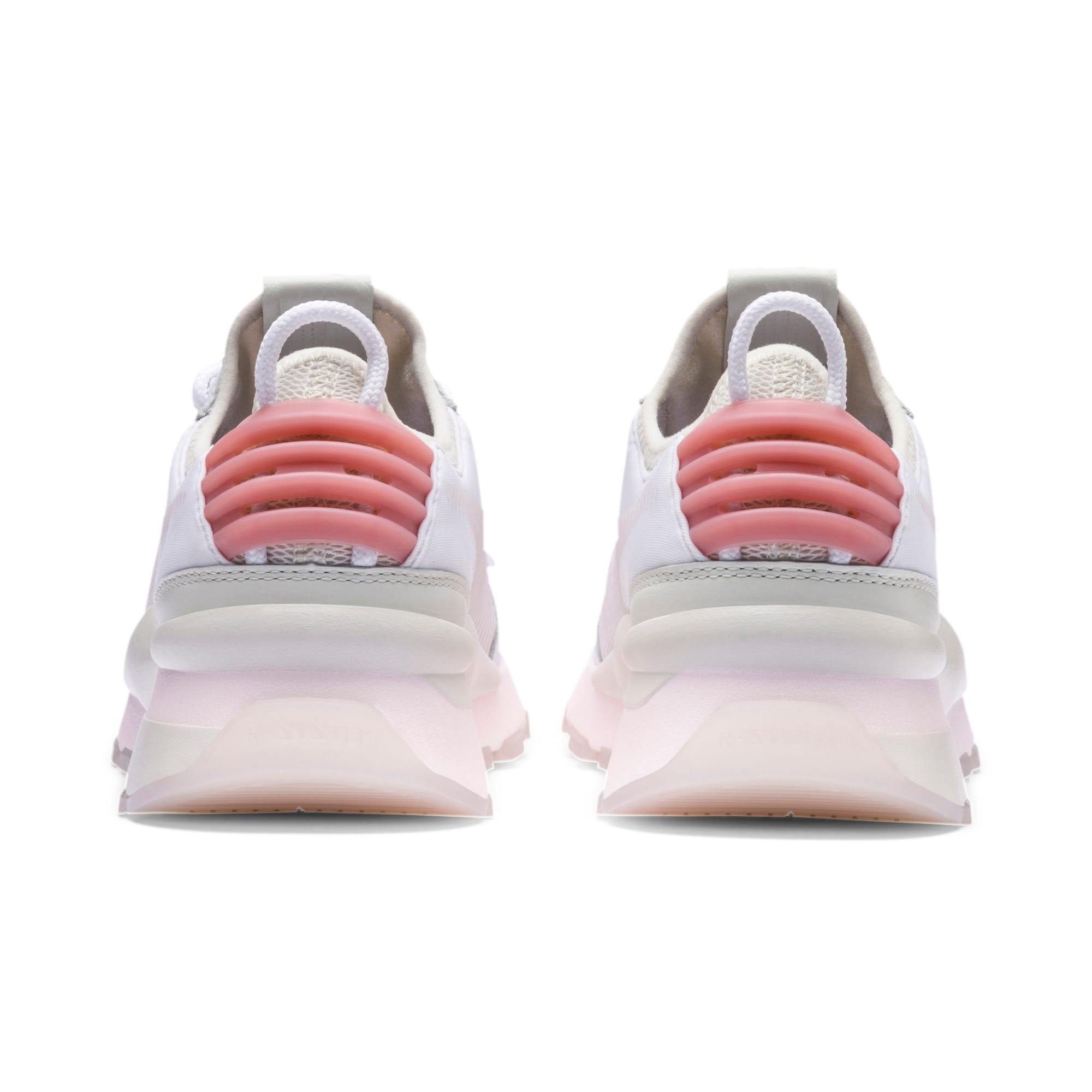 RS-0 TRACKS Trainers, Puma White-Marshmallow, large