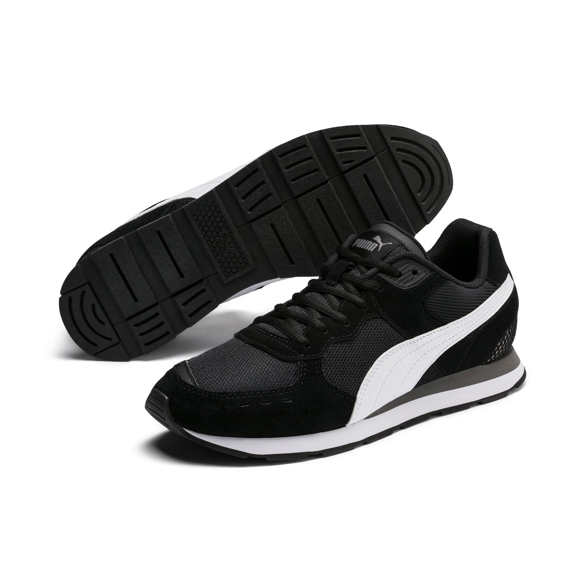 Miniatura 3 de Zapatos deportivos Vista, Black-White-Charcoal Gray, mediano