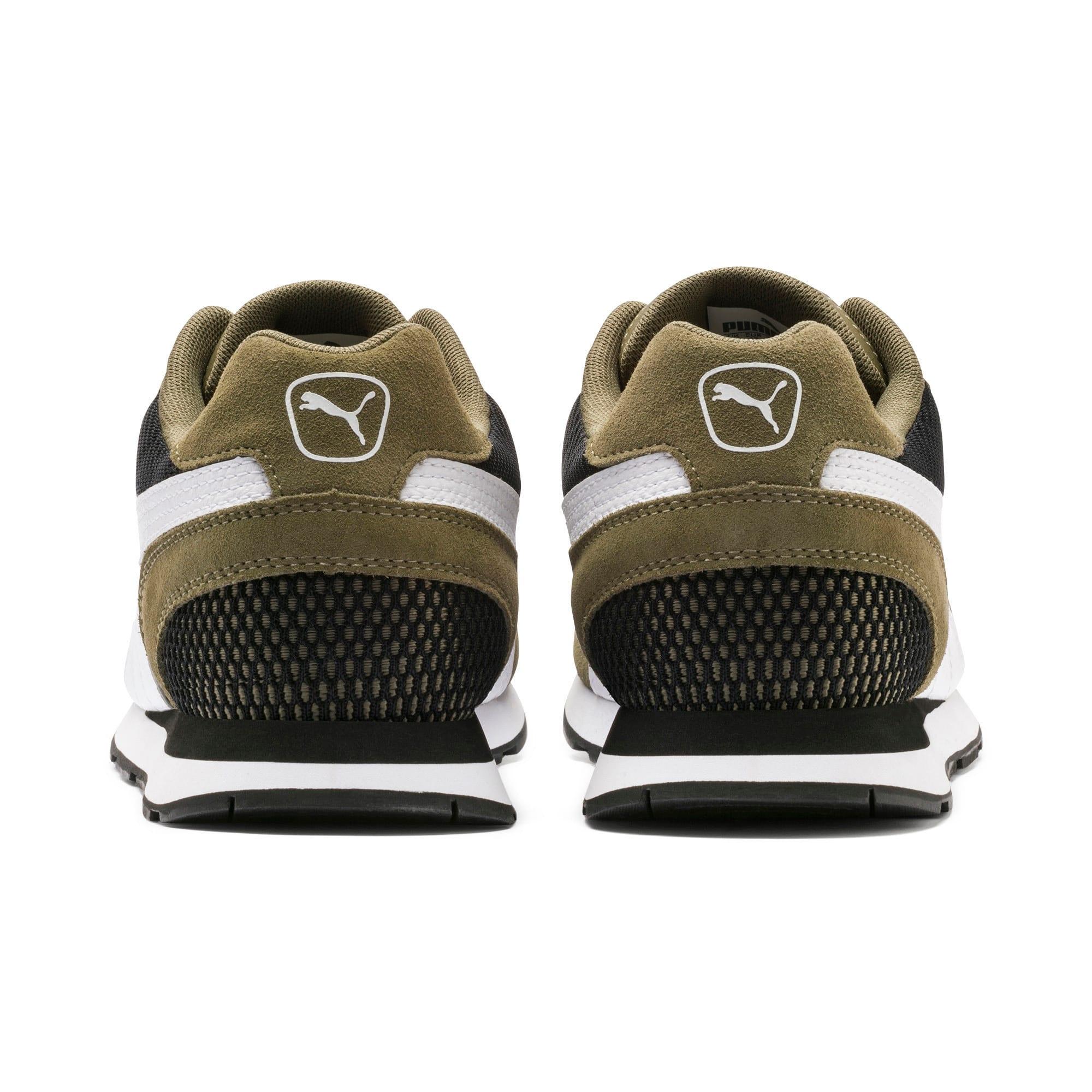 Miniatura 4 de Zapatos deportivos Vista, Burnt Olive-Puma White, mediano