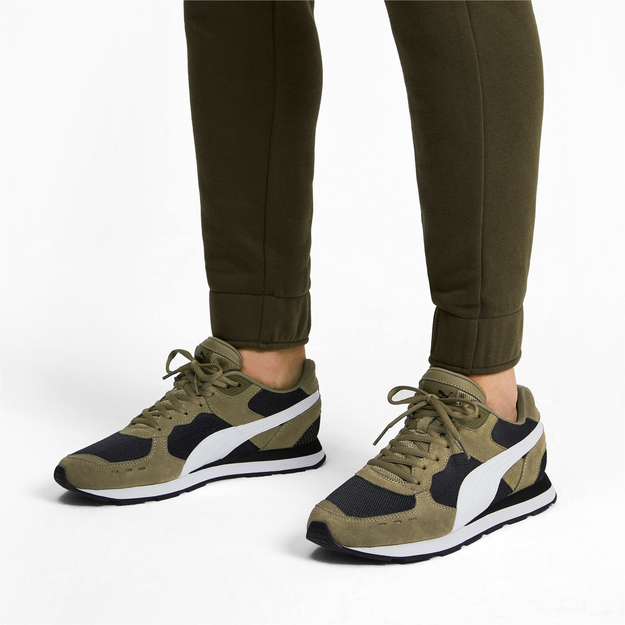 Miniatura 2 de Zapatos deportivos Vista, Burnt Olive-Puma White, mediano