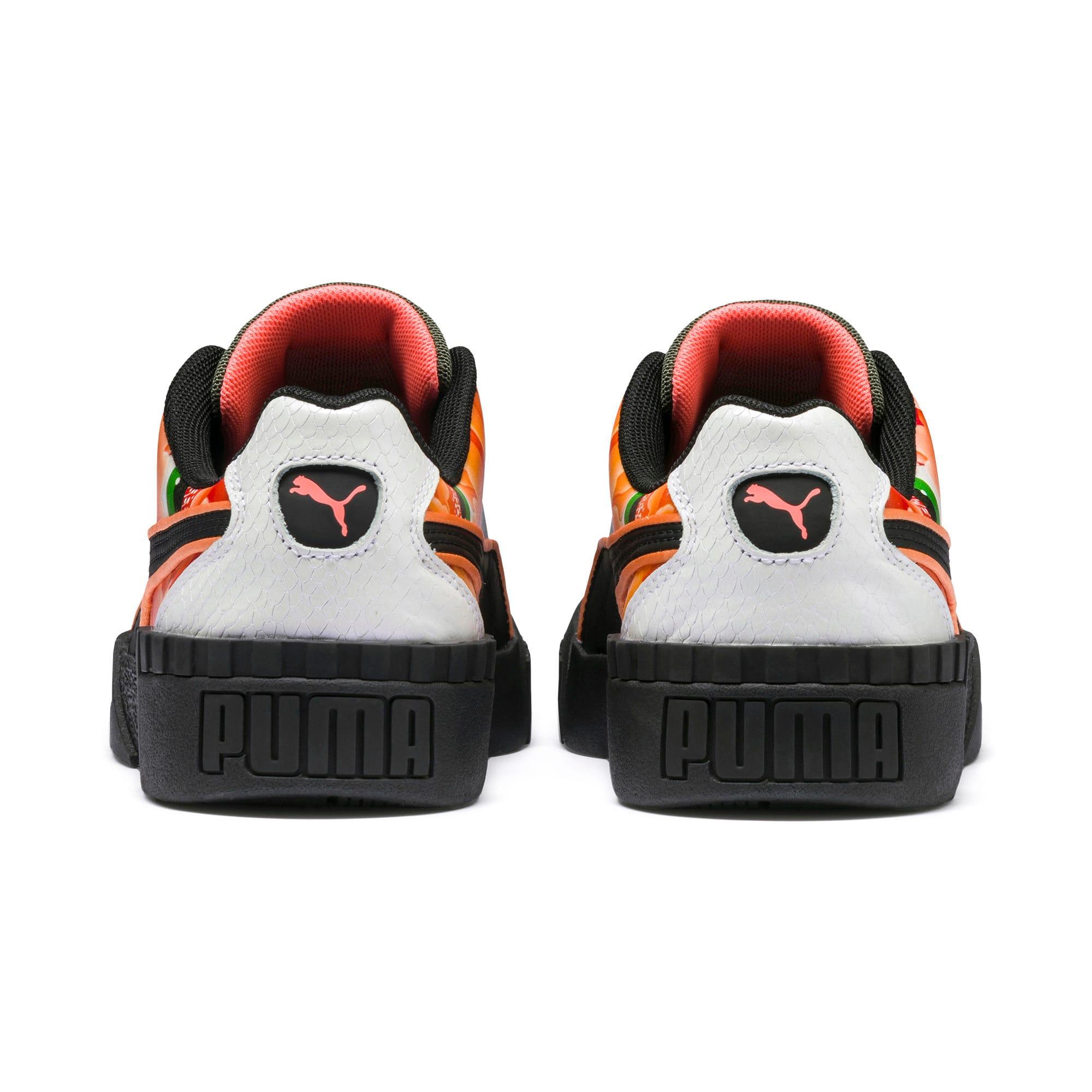 Thumbnail 4 of PUMA x SUE TSAI Cali Peonies Camo Women's Sneakers, Puma Black-Puma Black, medium