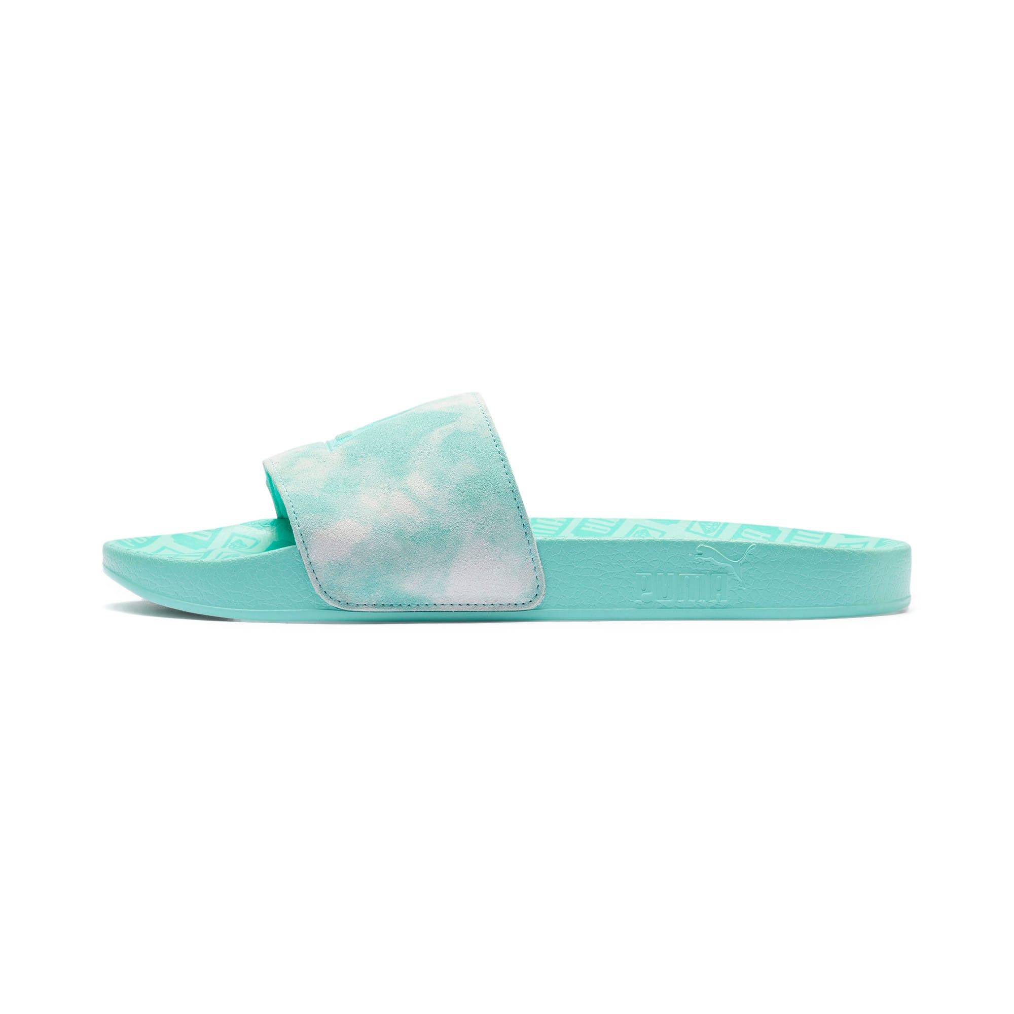 Thumbnail 1 of PUMA x DIAMOND SUPPLY CO. Leadcat Slides, Desert Flower-Diamond Blue, medium