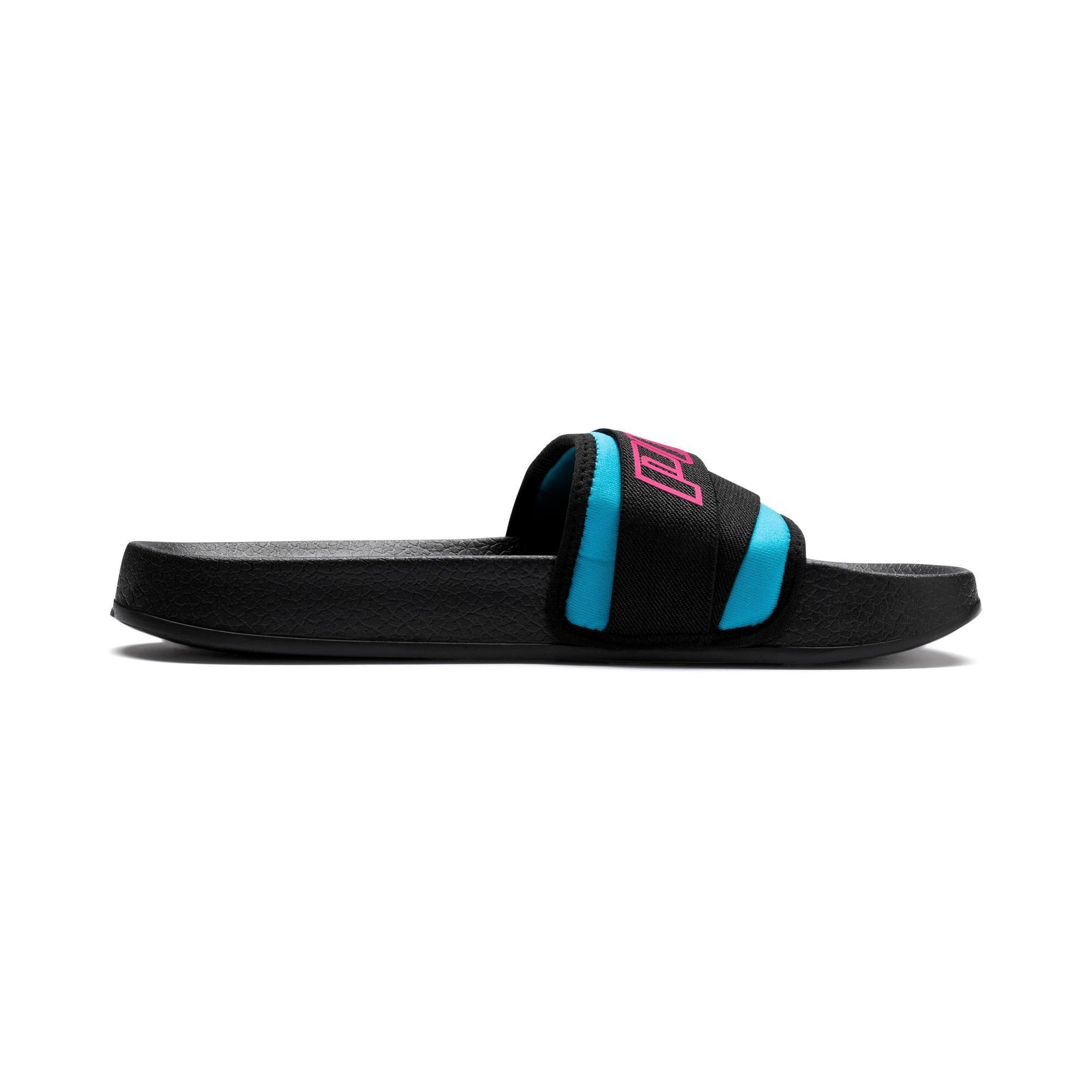 Thumbnail 5 of Leadcat Trailblazer Slide Women's Sandals, Puma Black-Fuchsia Purple, medium