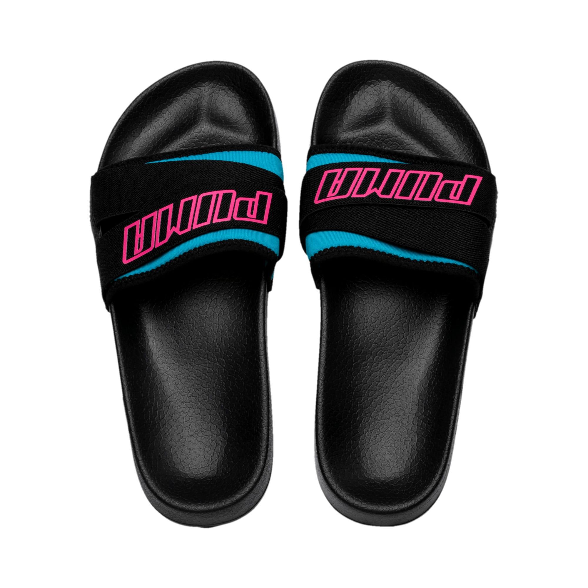 Thumbnail 6 of Leadcat Trailblazer Slide Women's Sandals, Puma Black-Fuchsia Purple, medium