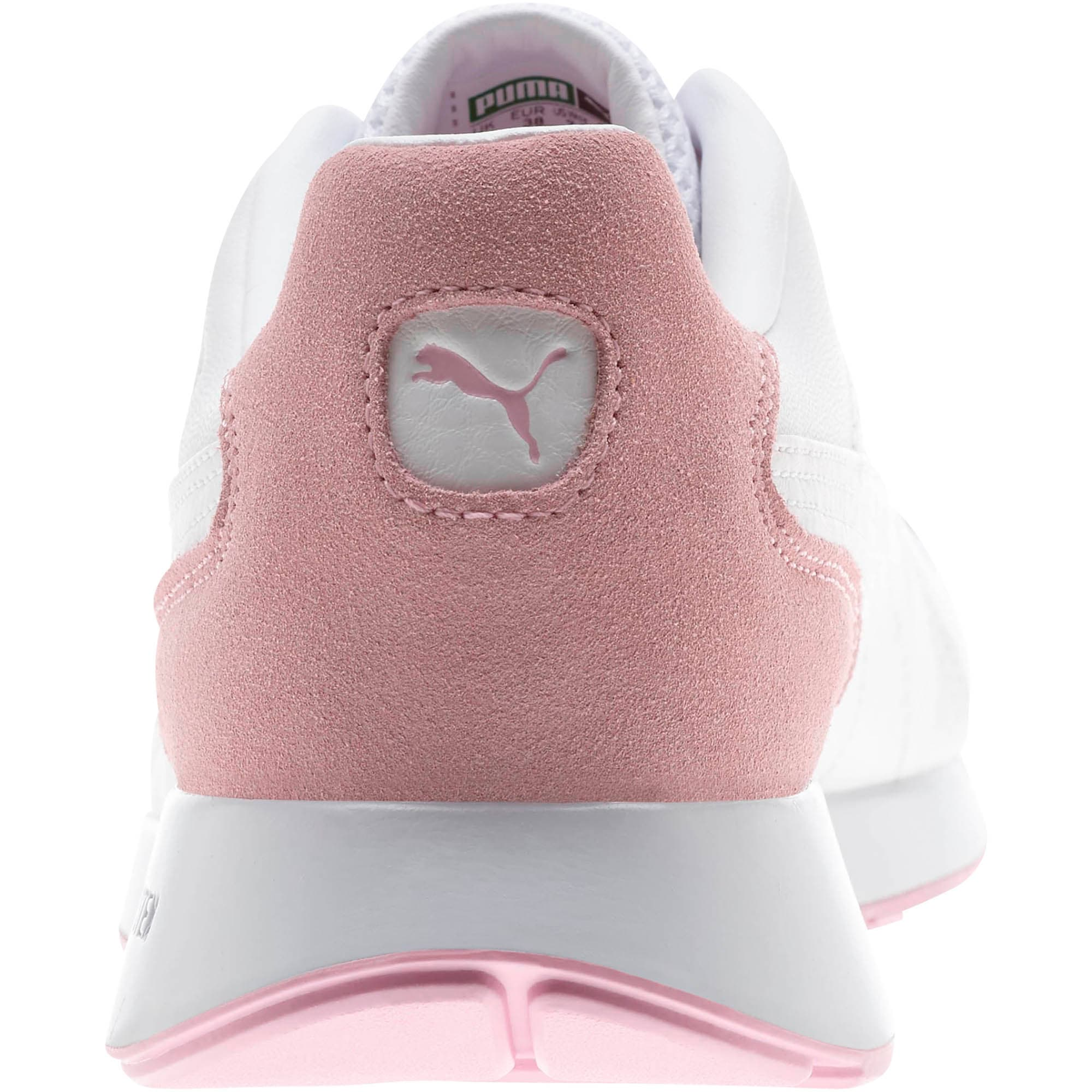 Thumbnail 3 of RS-150 Contrast Women's Sneakers, Puma White-Pale Pink, medium