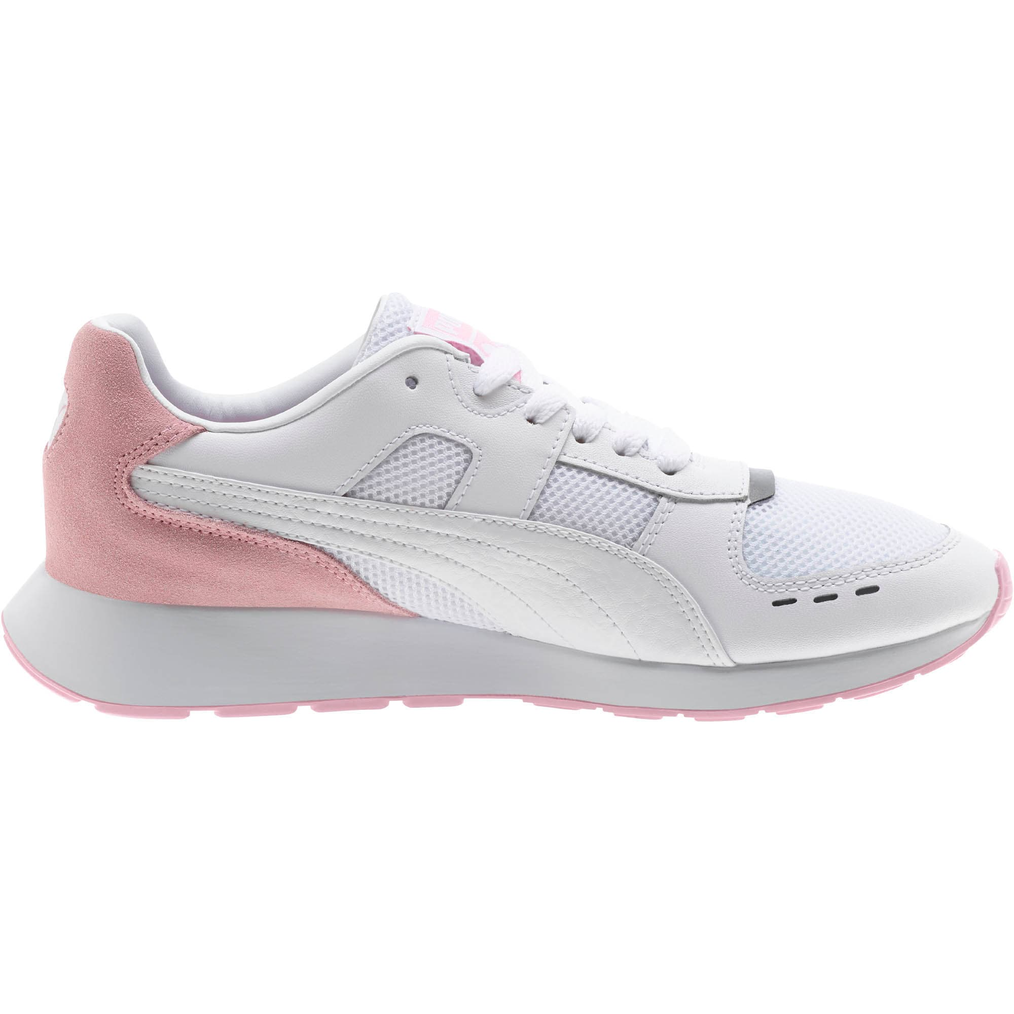 Thumbnail 4 of RS-150 Contrast Women's Sneakers, Puma White-Pale Pink, medium