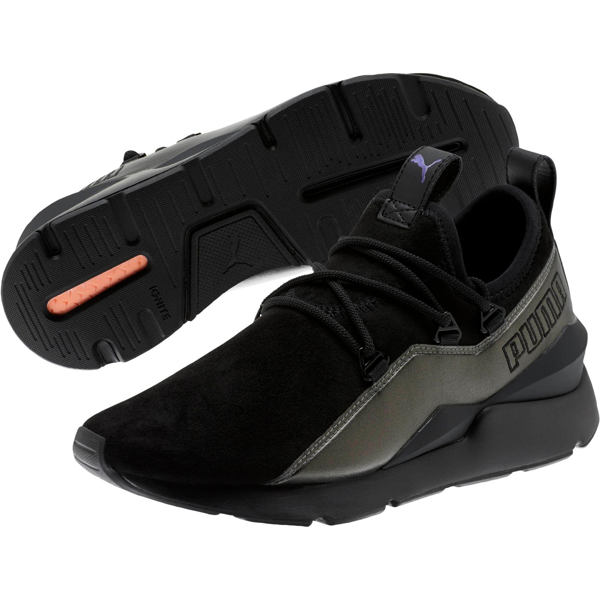 Miniatura 2 de Zapatos deportivosMuse 2 Twilight de mujer, Puma Black-Puma Black, mediano