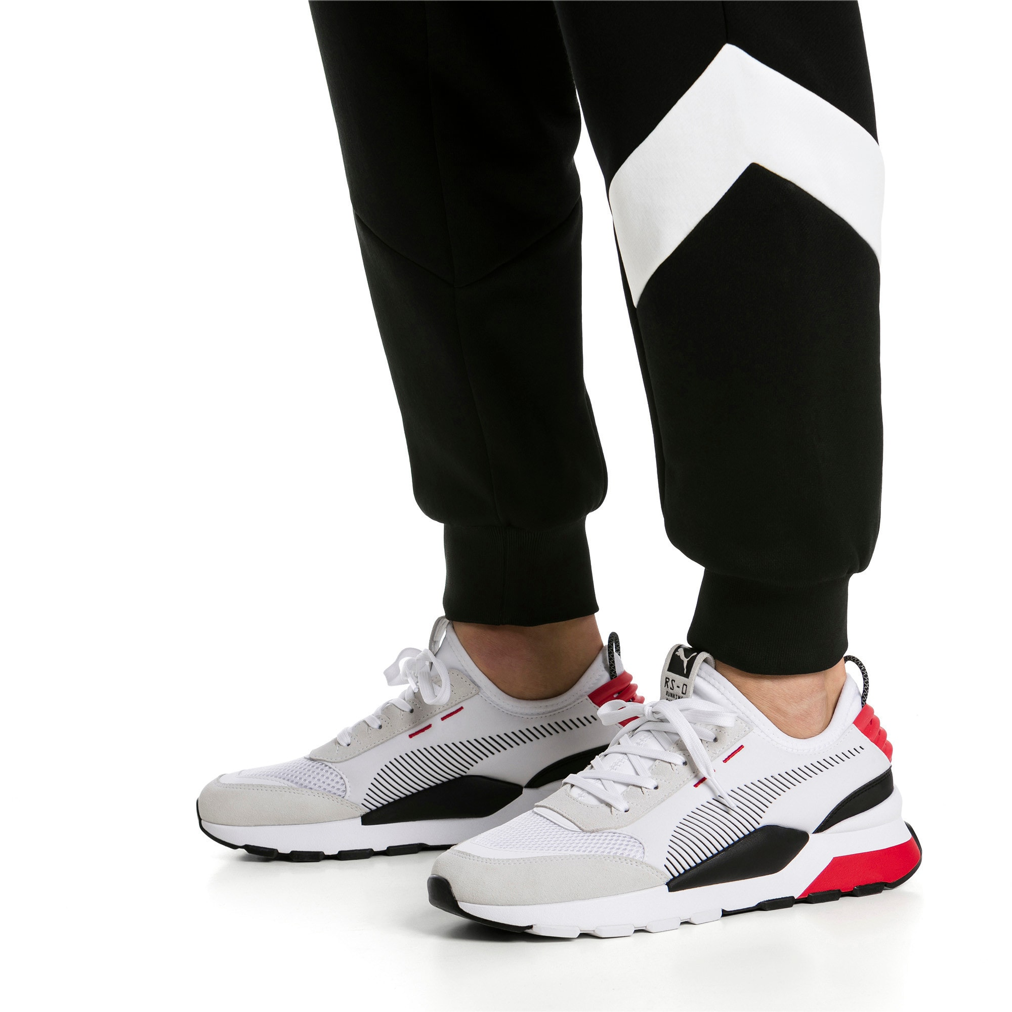 Thumbnail 2 of RS-O Winter Inj Toys Men's Sneakers, Puma White-High Risk Red, medium