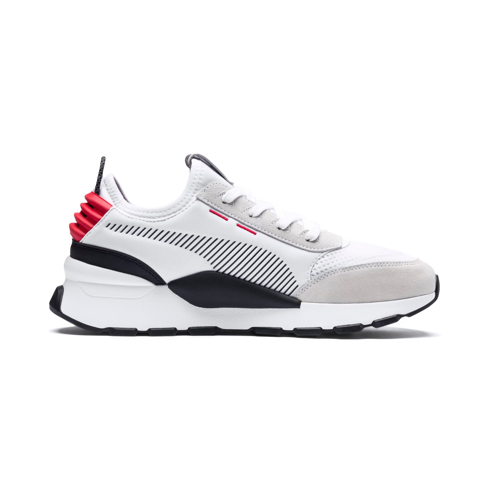 Thumbnail 7 of RS-O Winter Inj Toys Men's Sneakers, Puma White-High Risk Red, medium