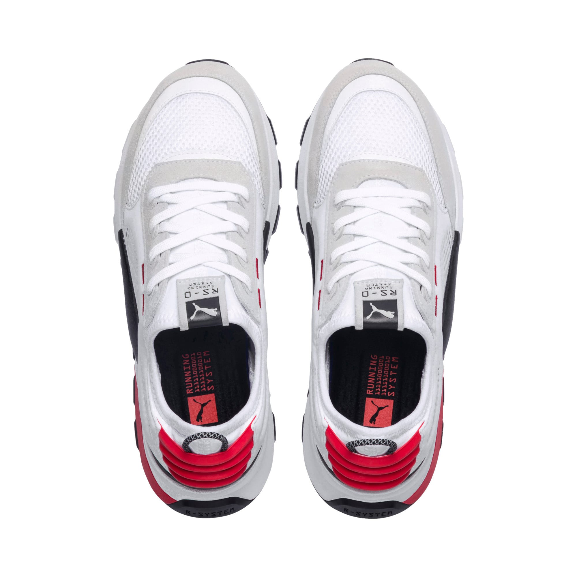 Thumbnail 8 of RS-O Winter Inj Toys Men's Sneakers, Puma White-High Risk Red, medium