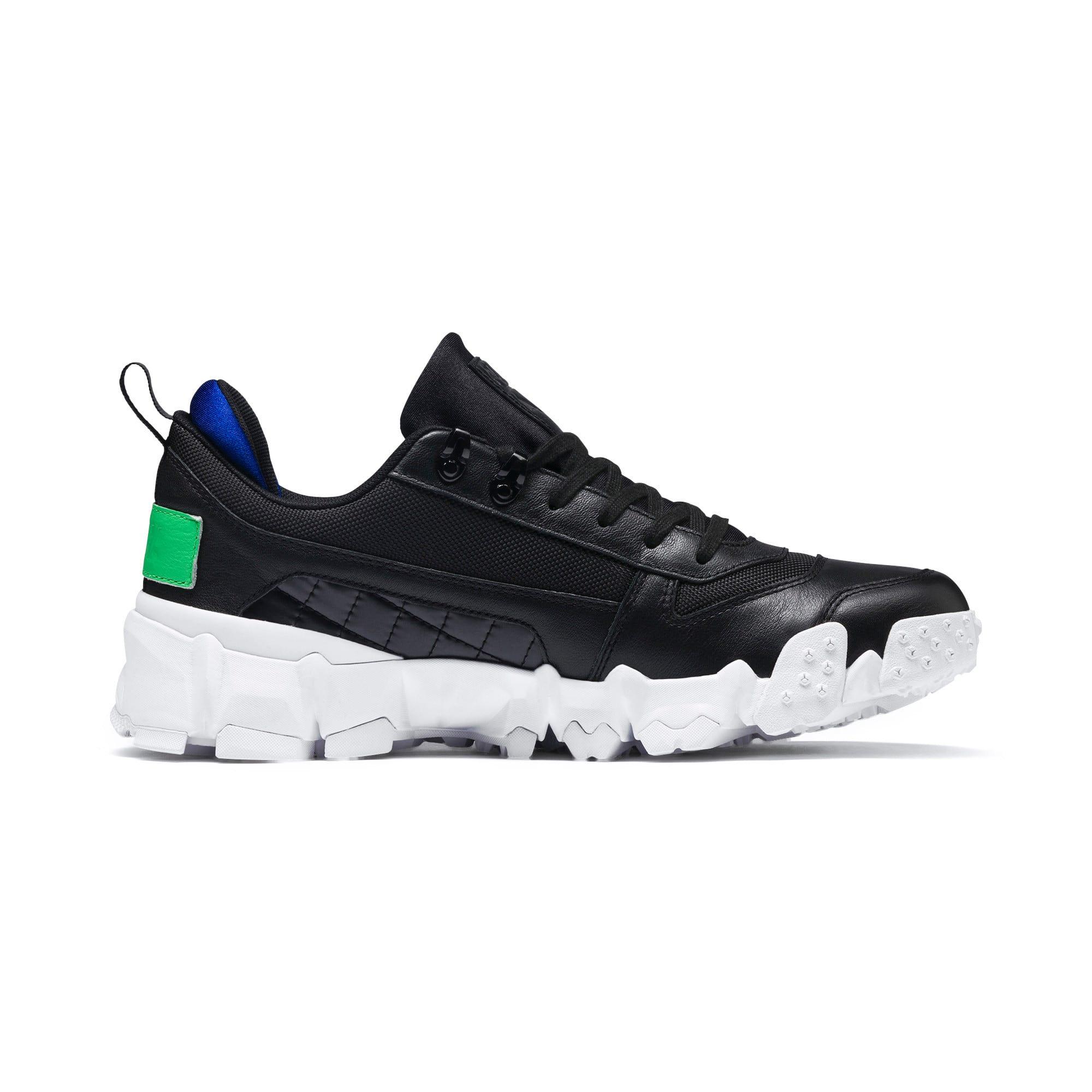 Thumbnail 6 of Trailfox Leather Sneakers, Puma Black-Irish Green, medium