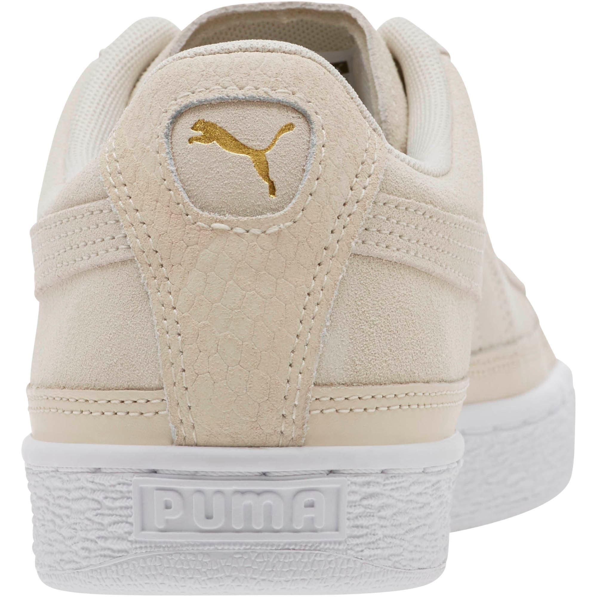 Thumbnail 4 of Suede Skate Premium Sneakers, Whisper White-Puma White, medium
