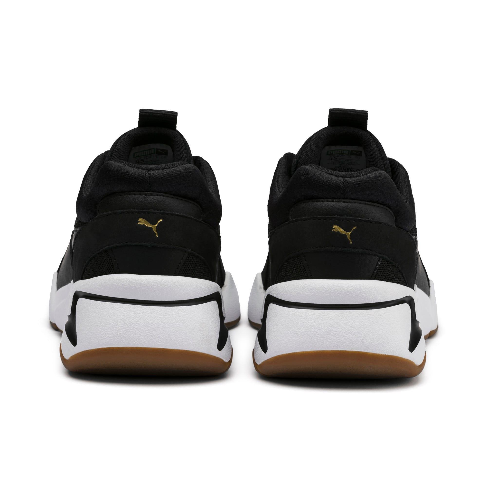 Thumbnail 4 of Nova '90s Bloc Women's Sneakers, Puma Black-Puma Black, medium