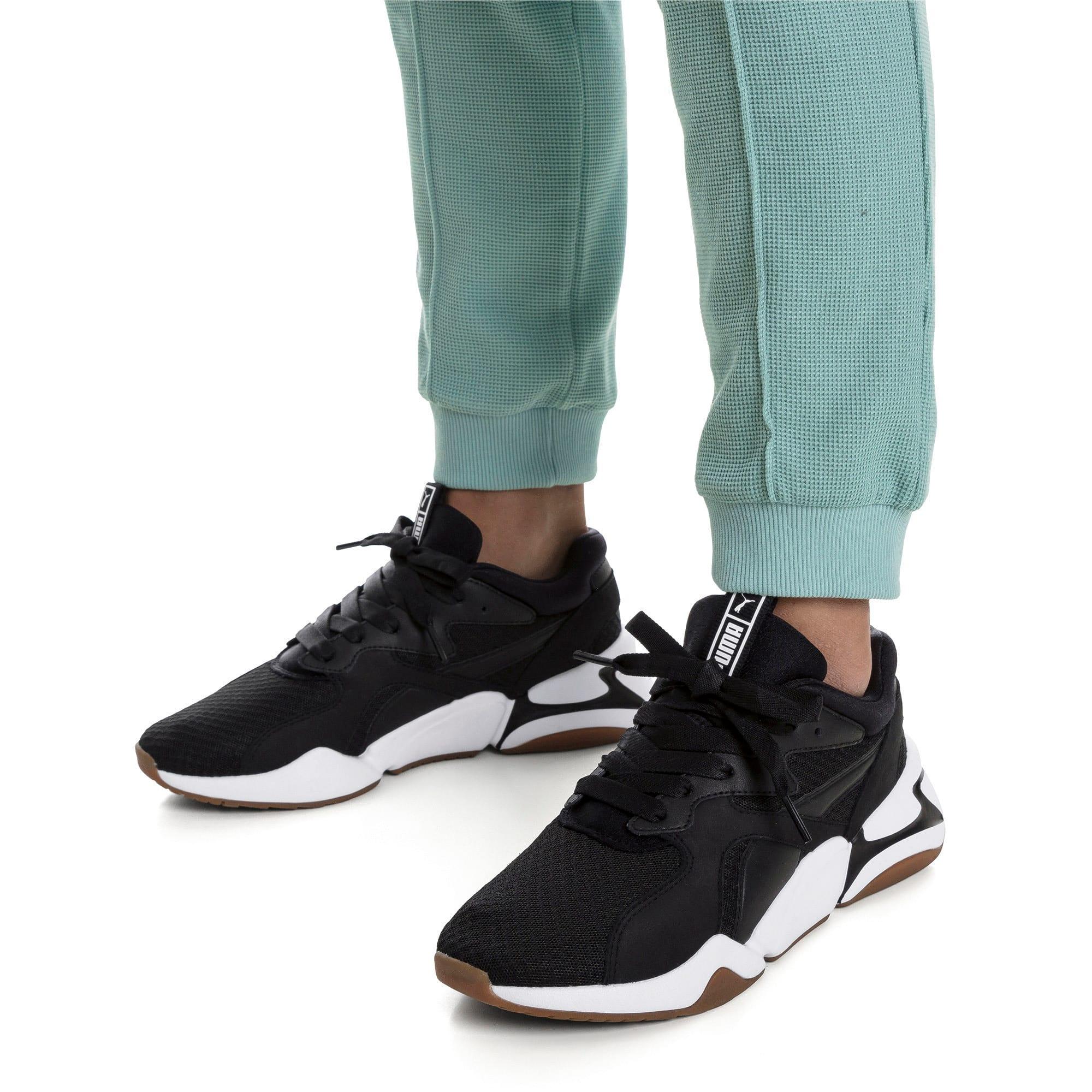 Thumbnail 2 of Nova '90s Bloc Women's Sneakers, Puma Black-Puma Black, medium