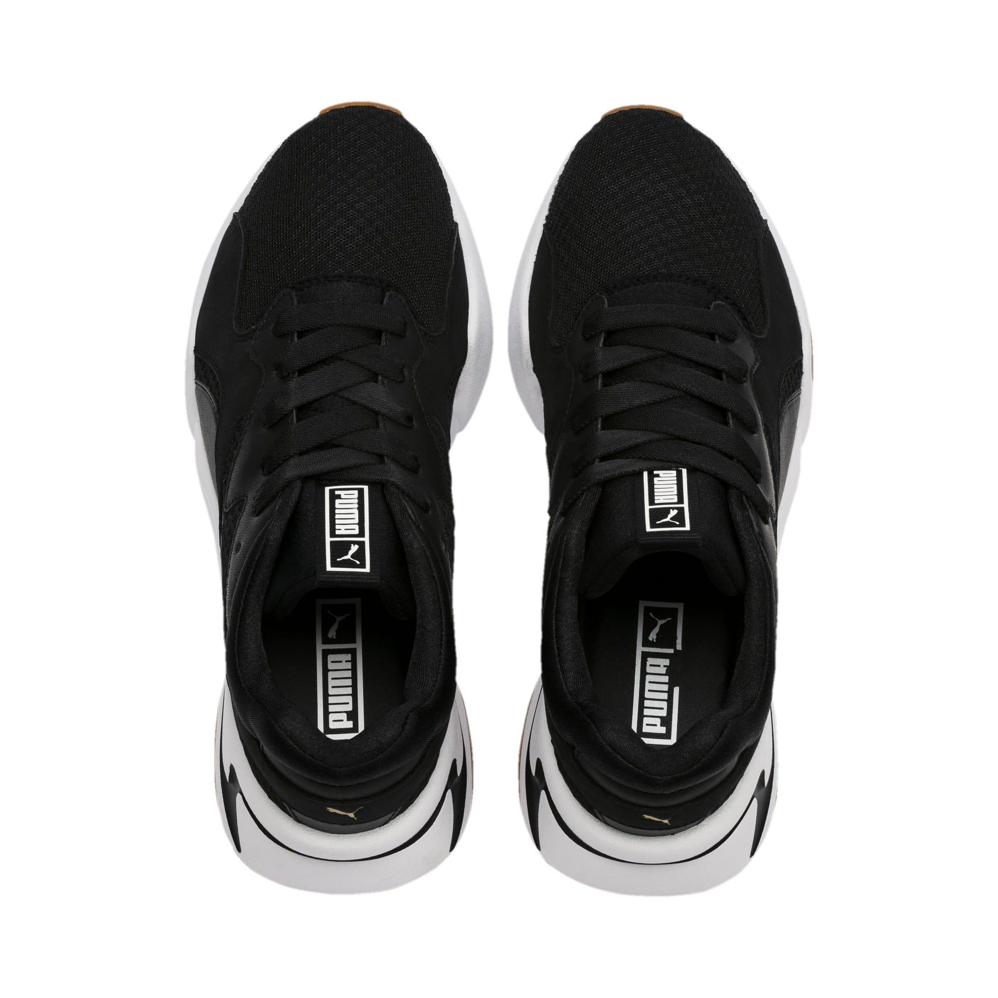 Thumbnail 7 of Nova '90s Bloc Women's Sneakers, Puma Black-Puma Black, medium