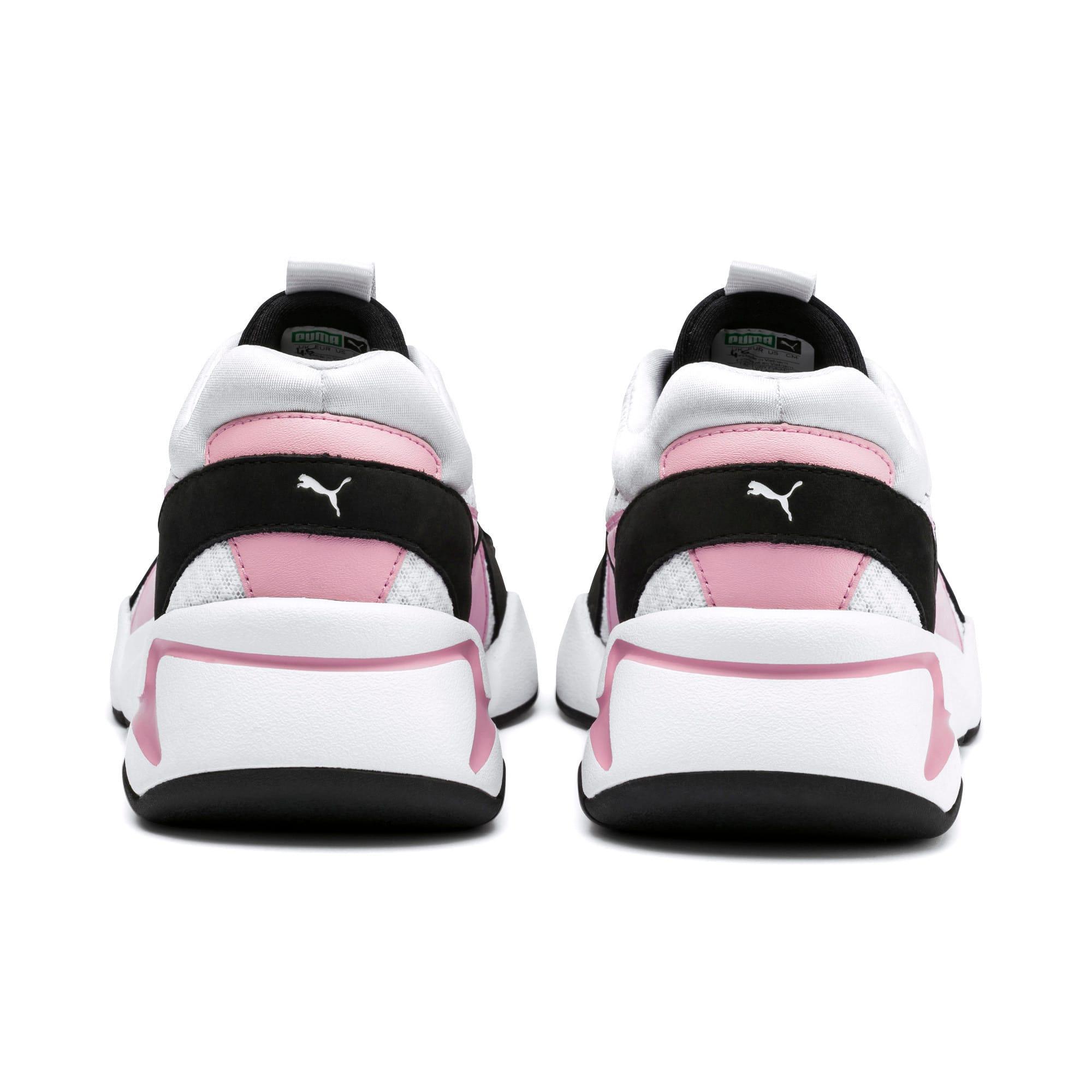 Miniatura 4 de Zapatos deportivos Nova '90s Bloc para mujer, Puma White-Pale Pink, mediano