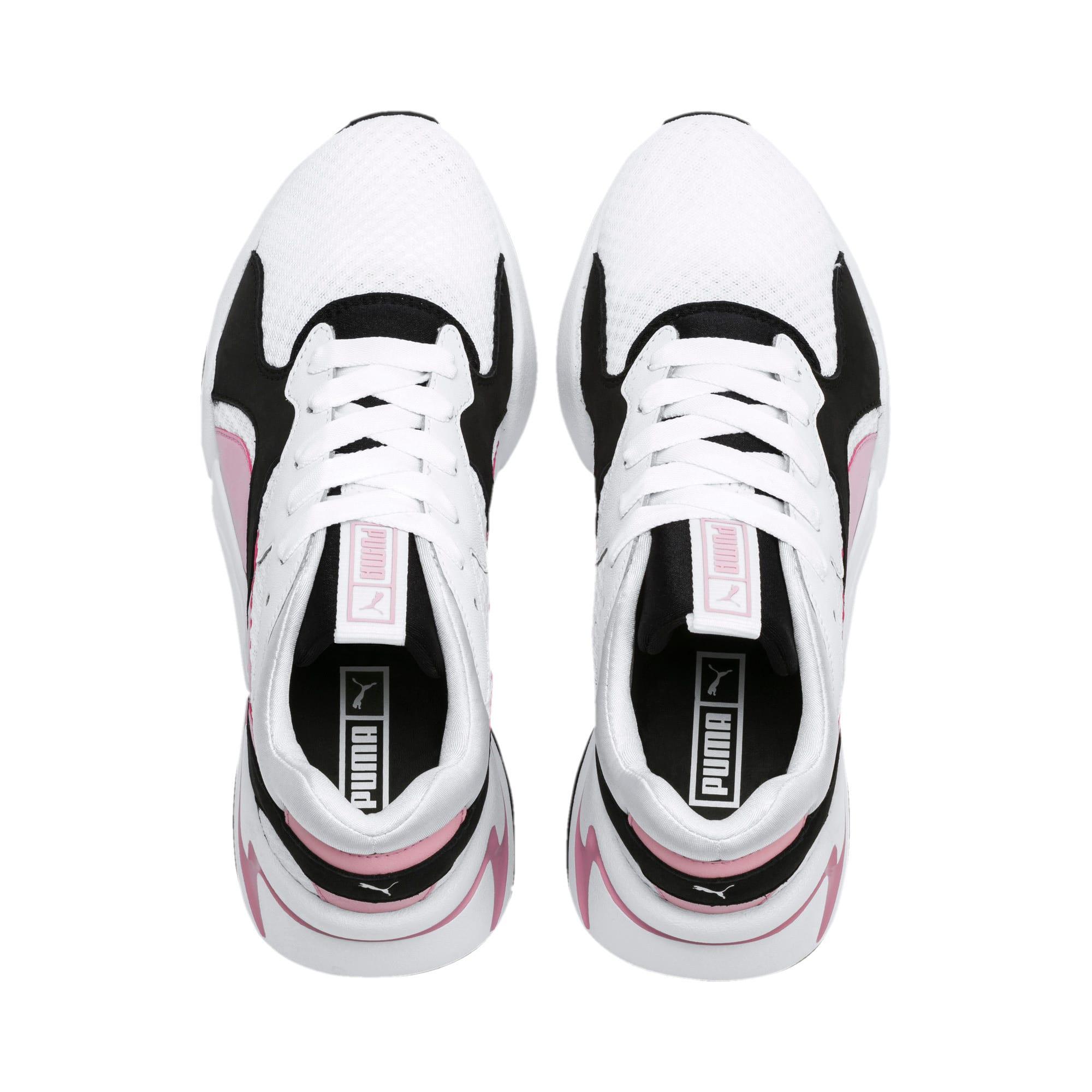 Miniatura 7 de Zapatos deportivos Nova '90s Bloc para mujer, Puma White-Pale Pink, mediano