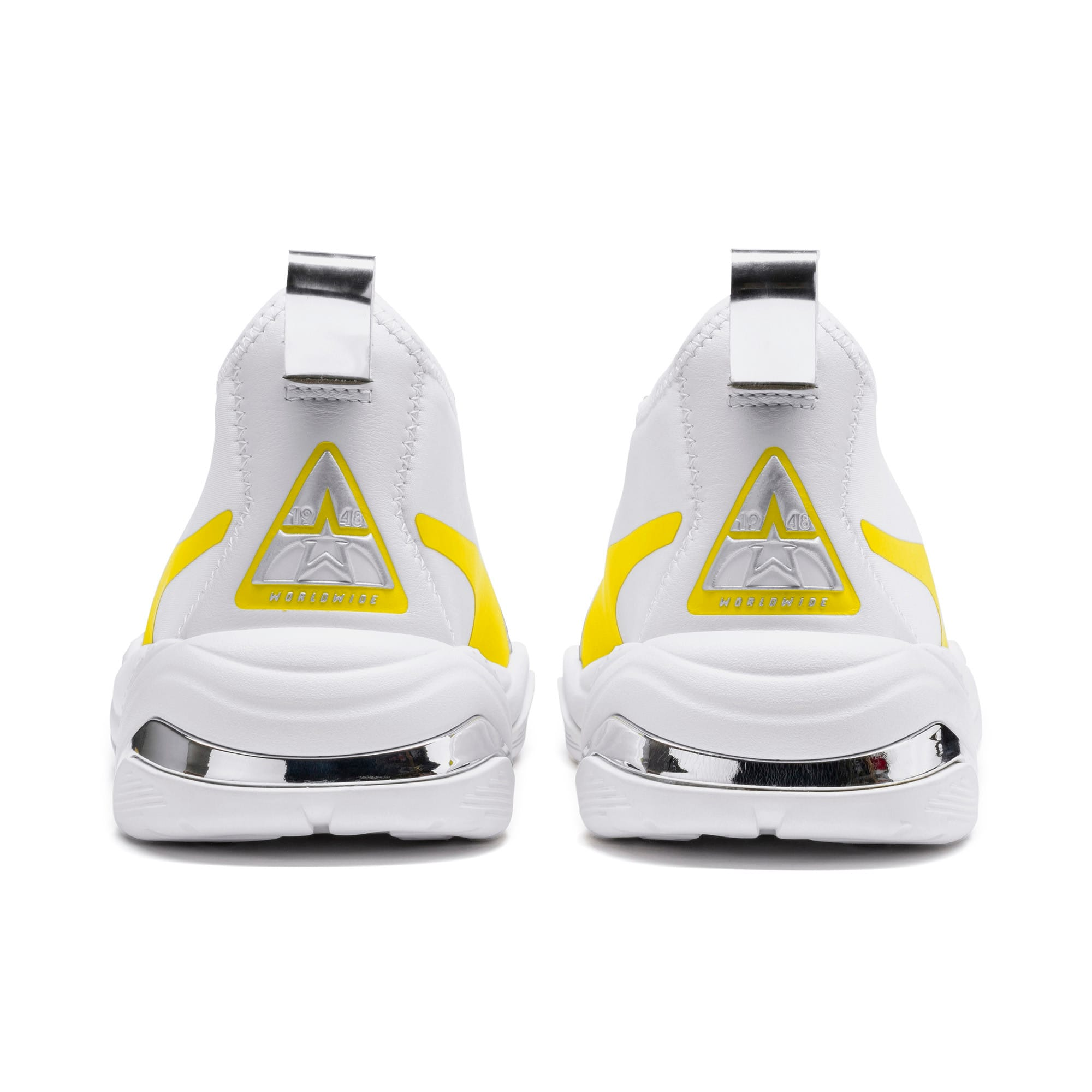 Miniatura 4 de Zapatos deportivos para mujer Thunder TrailblazerMetallic, Puma White-Blazing Yellow, mediano
