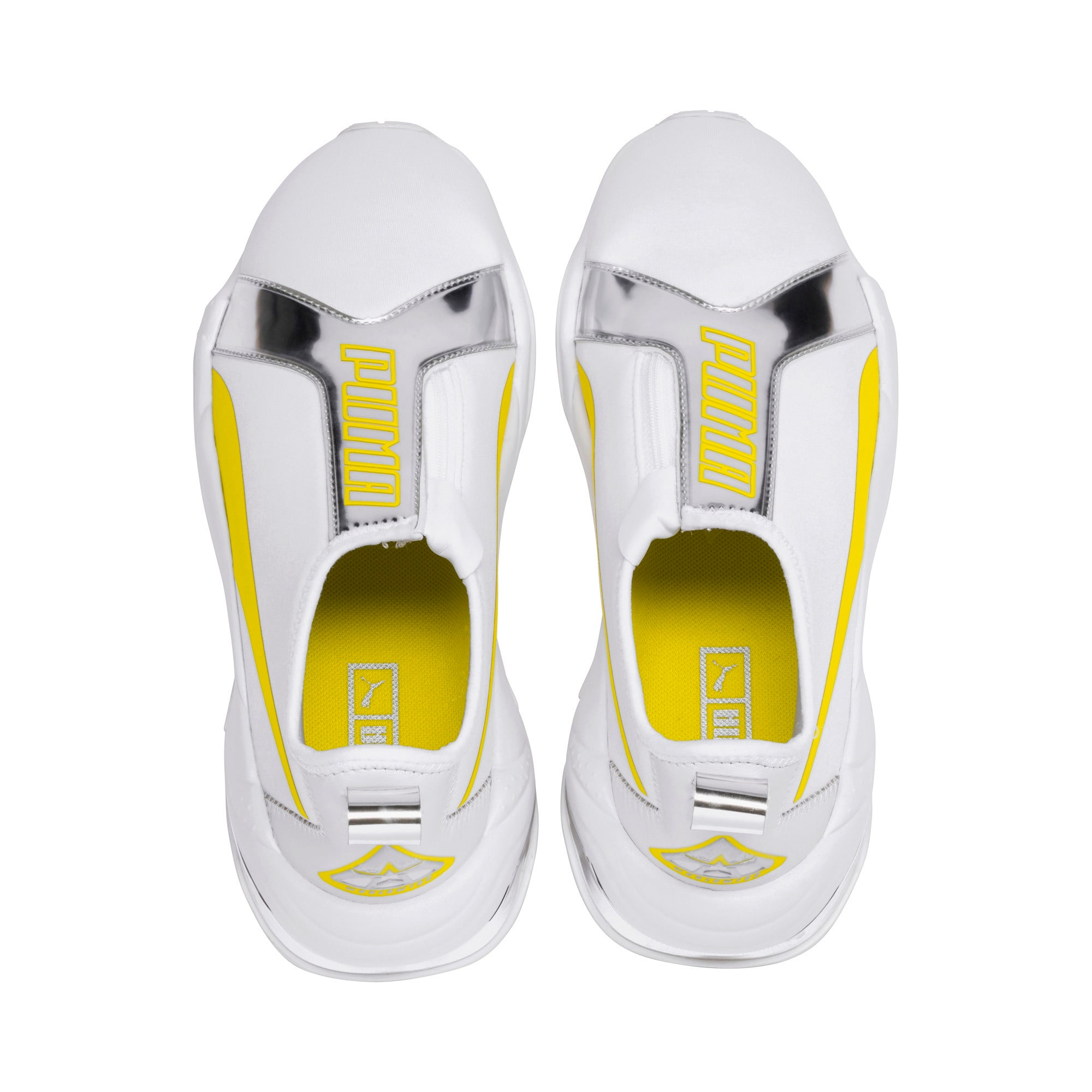 Miniatura 7 de Zapatos deportivos para mujer Thunder TrailblazerMetallic, Puma White-Blazing Yellow, mediano