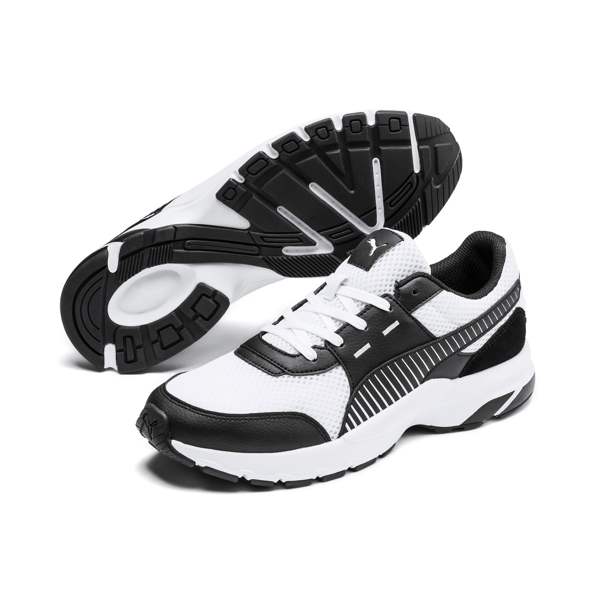 Thumbnail 3 of Future Runner Premium Laufschuhe, Puma White-Puma Black, medium