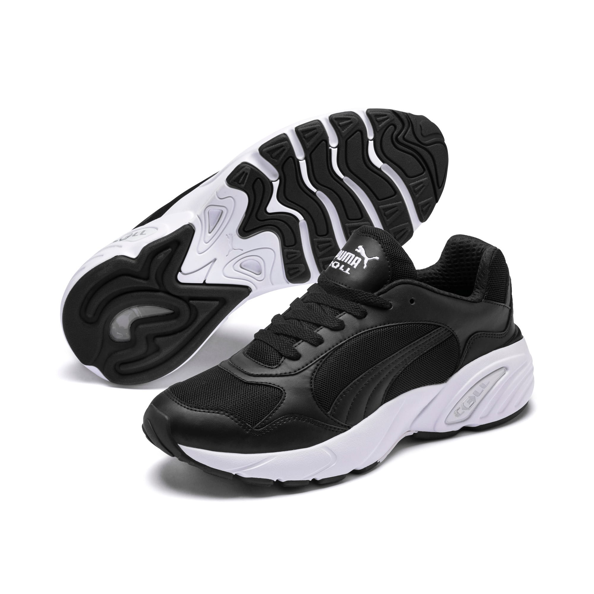Thumbnail 2 of CELL Viper Trainers, Puma Black-Puma White, medium
