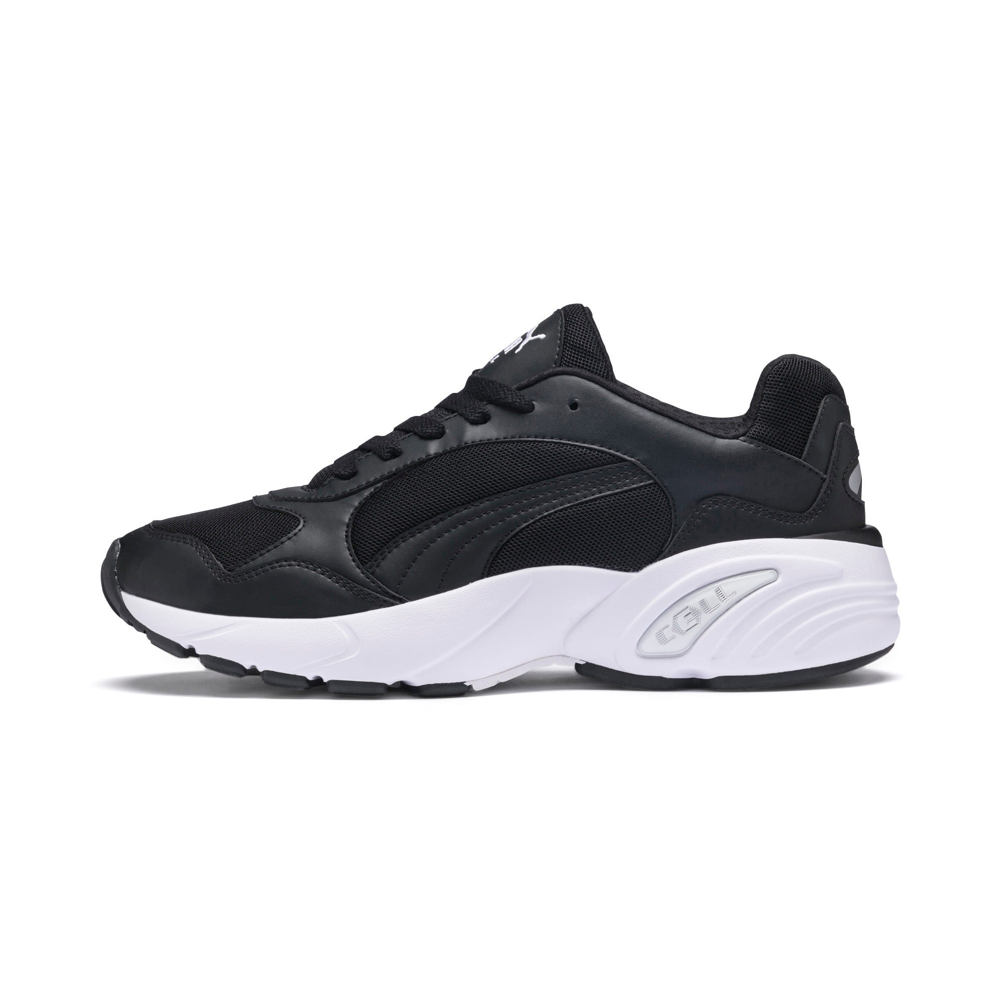Thumbnail 1 of CELL Viper Trainers, Puma Black-Puma White, medium