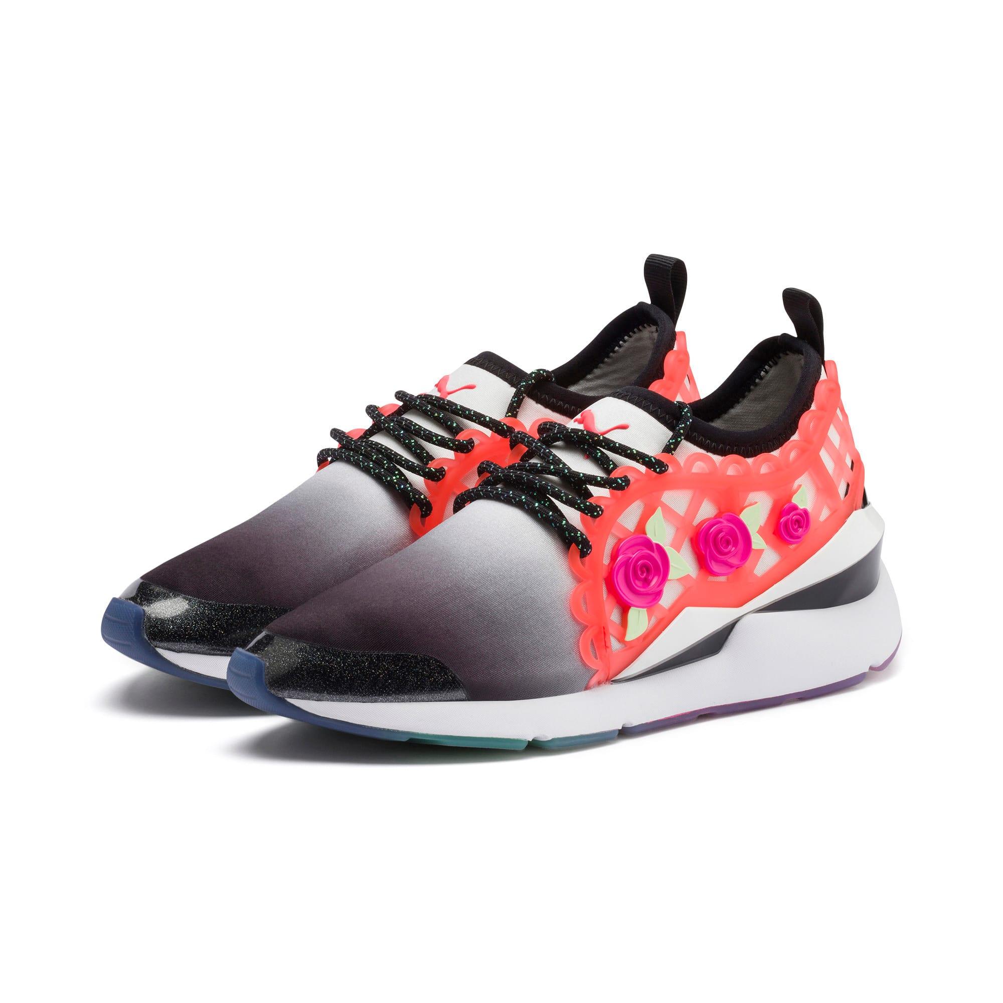 Miniatura 2 de Zapatos deportivos PUMA x SOPHIA WEBSTER Muse para mujer, Puma Black-Puma White, mediano