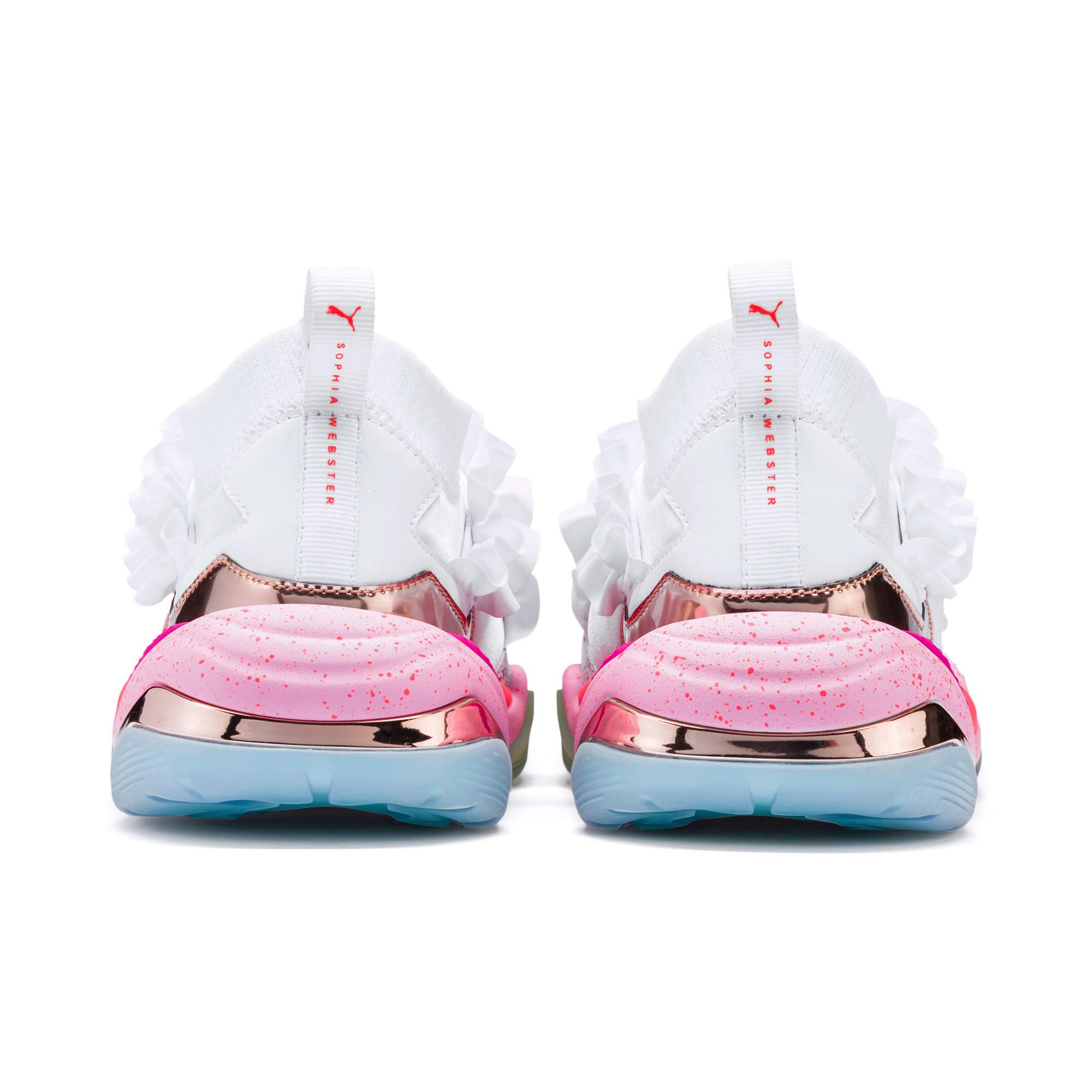 Miniatura 5 de Zapatos deportivosPUMA x SOPHIA WEBSTER Thunder de mujer, Puma White, mediano