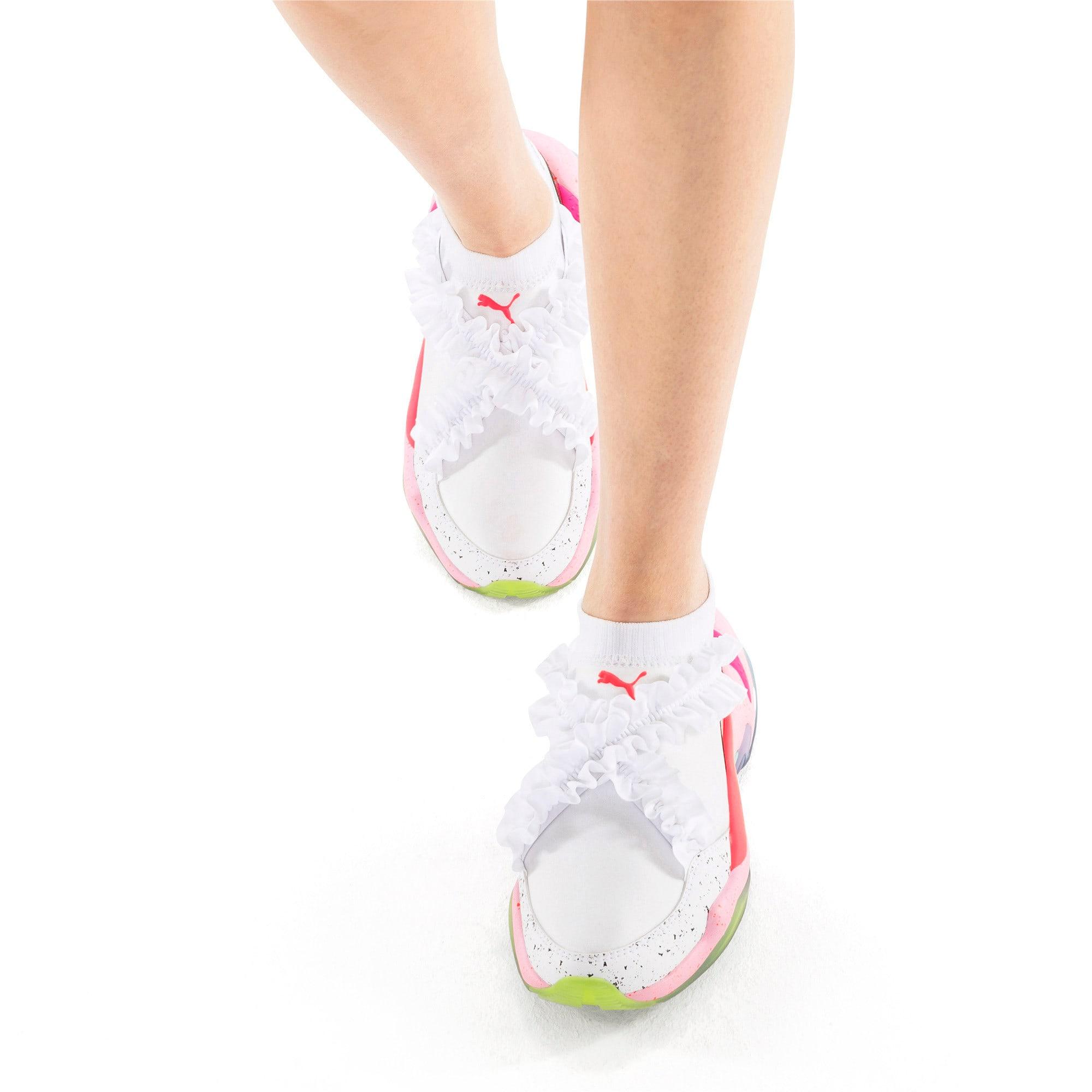 Miniatura 3 de Zapatos deportivosPUMA x SOPHIA WEBSTER Thunder de mujer, Puma White, mediano