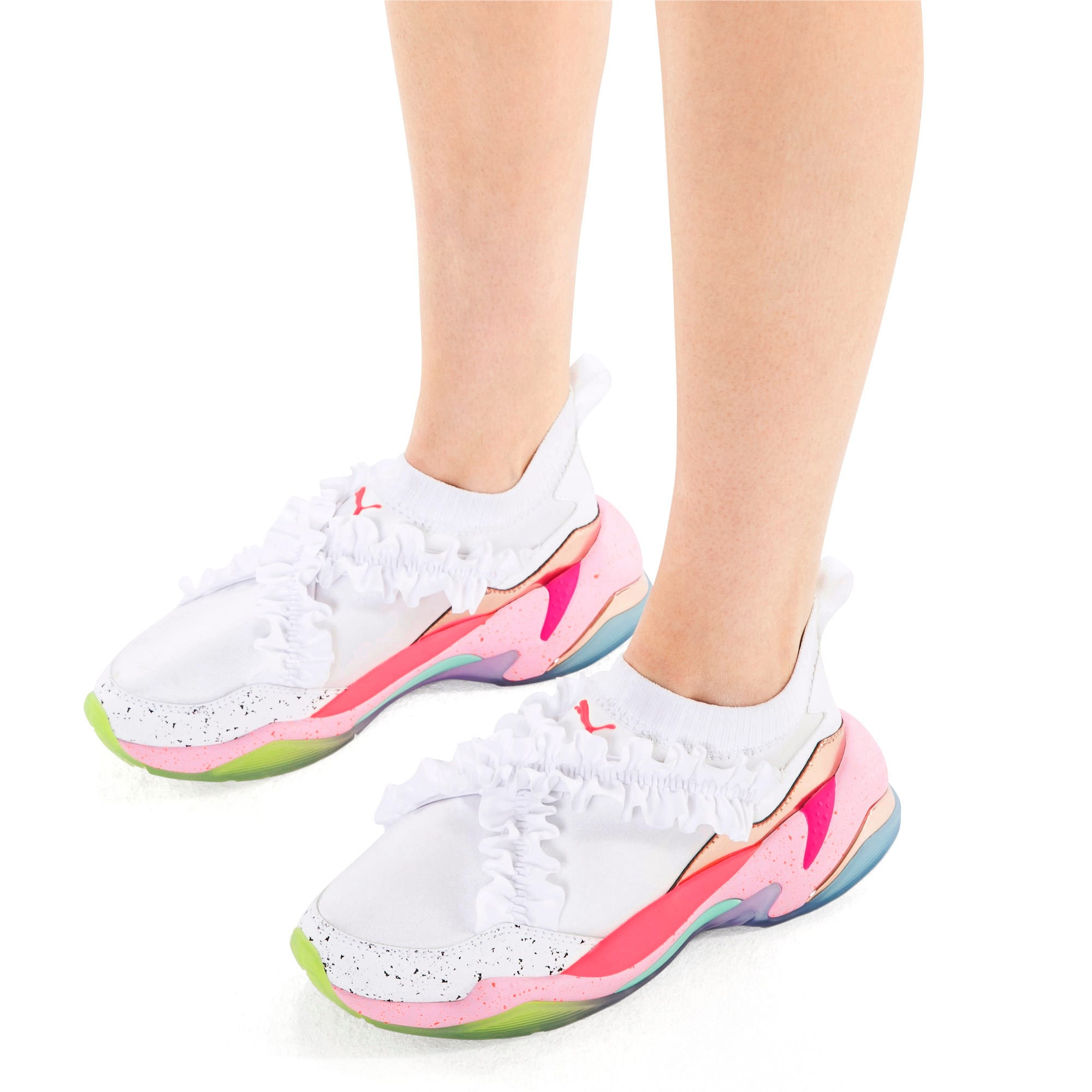 Miniatura 2 de Zapatos deportivosPUMA x SOPHIA WEBSTER Thunder de mujer, Puma White, mediano