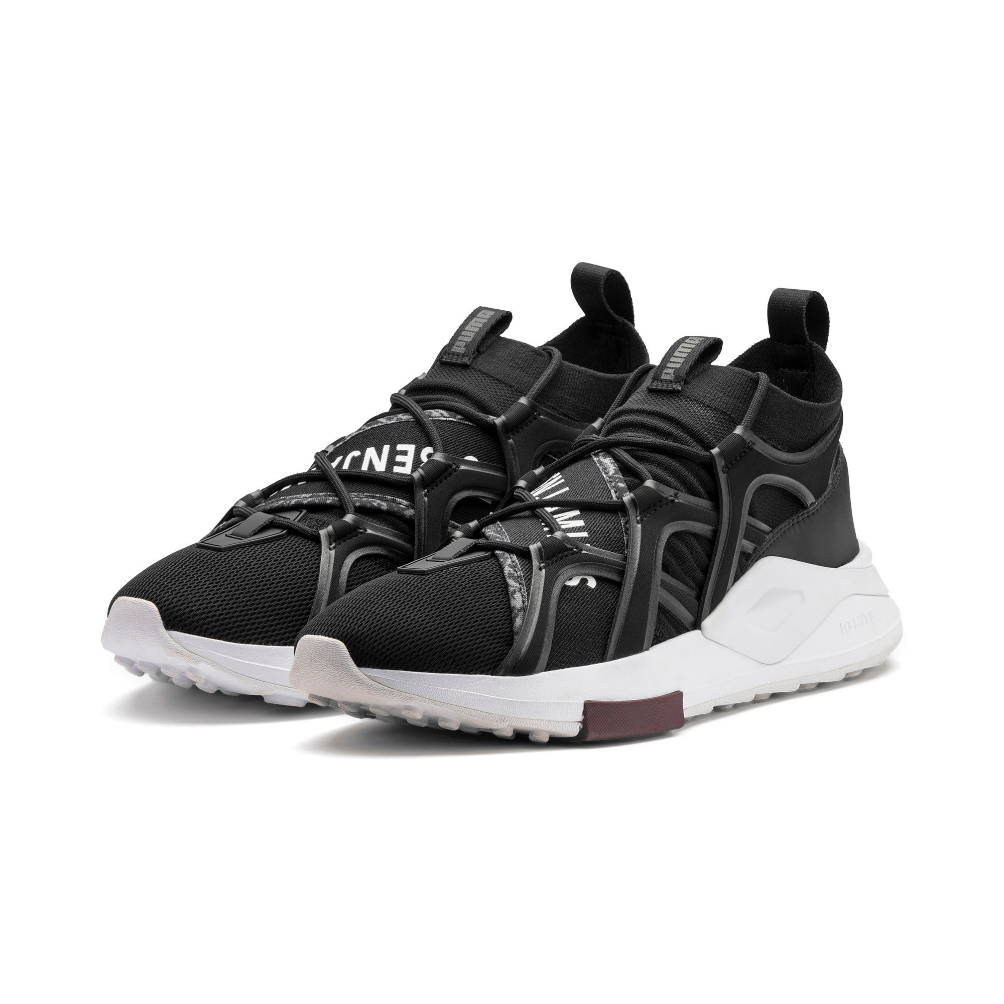 Thumbnail 4 of PUMA x LES BENJAMINS SHOKU Sneakers, Puma Black, medium