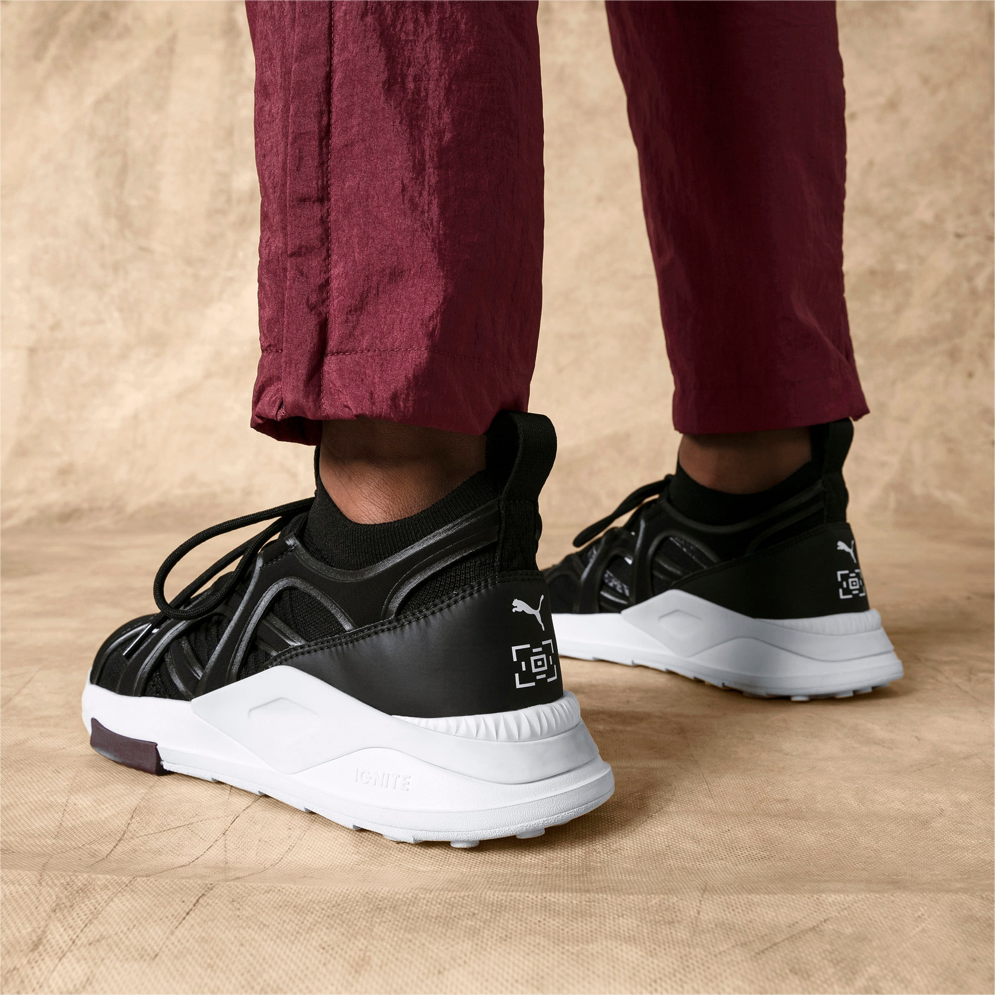 Thumbnail 3 of PUMA x LES BENJAMINS SHOKU Sneakers, Puma Black, medium
