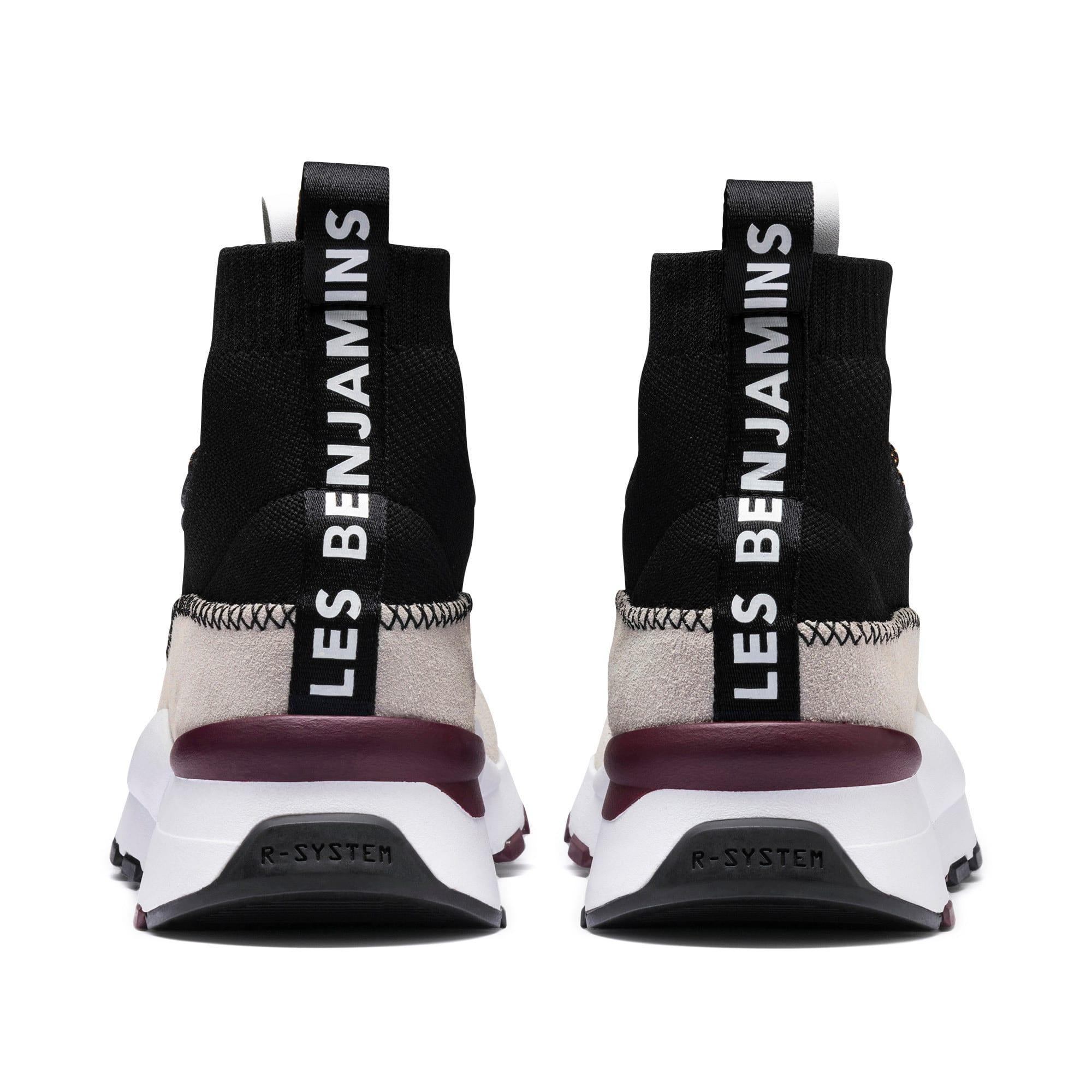 Thumbnail 5 of RS-0 LES BENJAMINS Sneakers, Puma White-Puma Black, medium