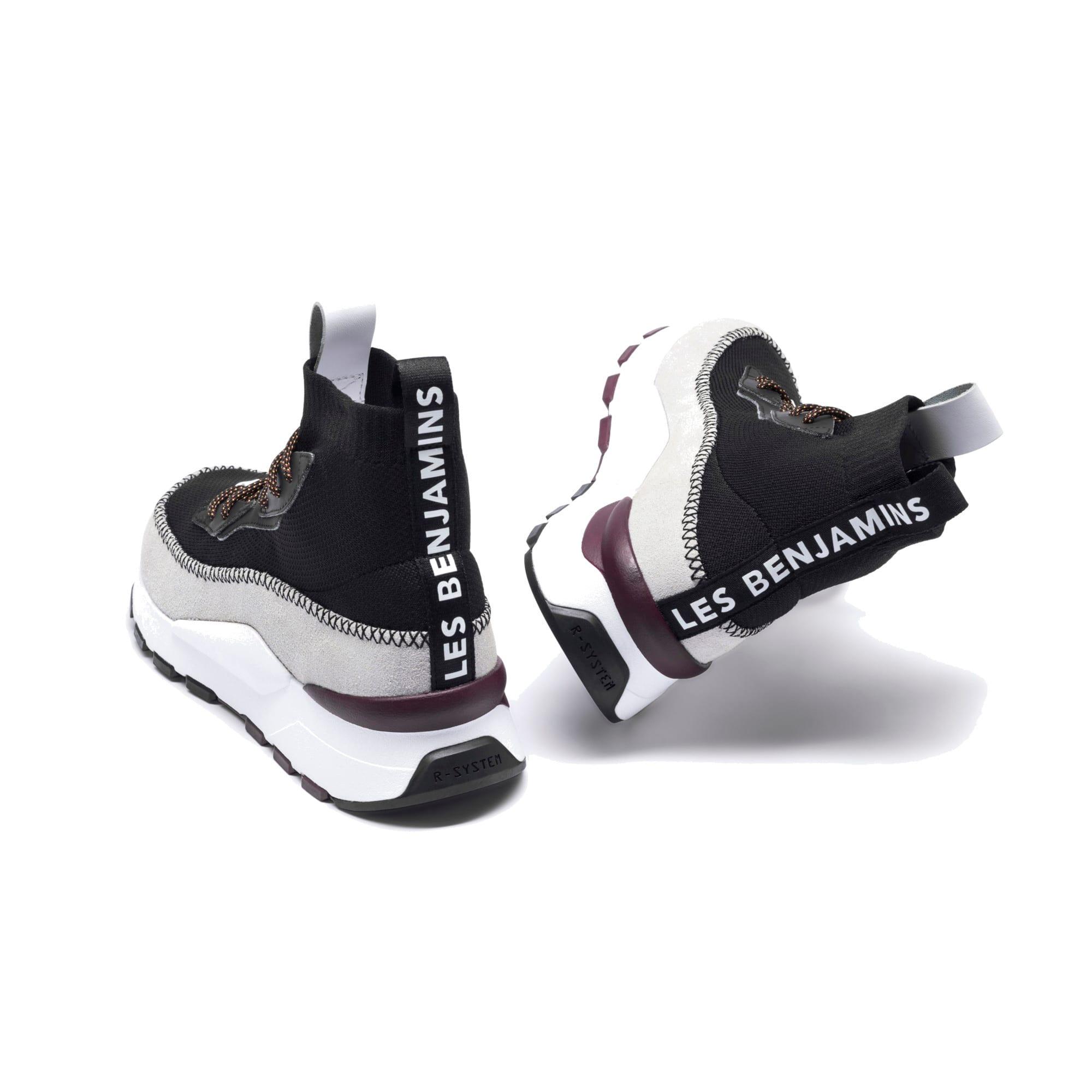 Thumbnail 11 of RS-0 LES BENJAMINS Sneakers, Puma White-Puma Black, medium