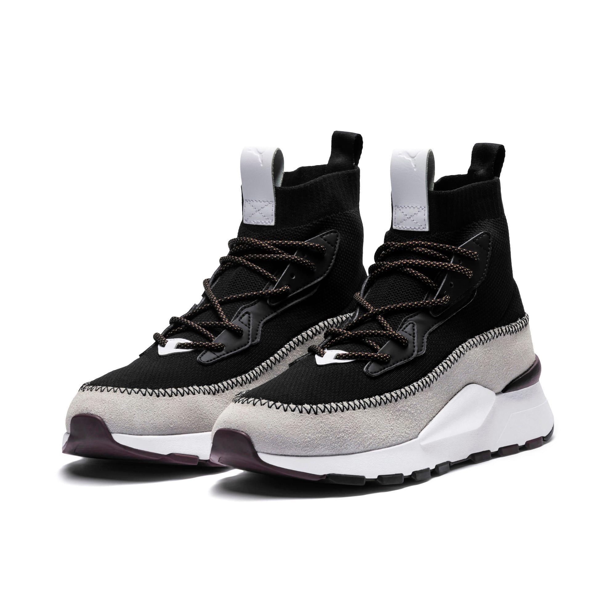 Thumbnail 4 of RS-0 LES BENJAMINS Sneakers, Puma White-Puma Black, medium