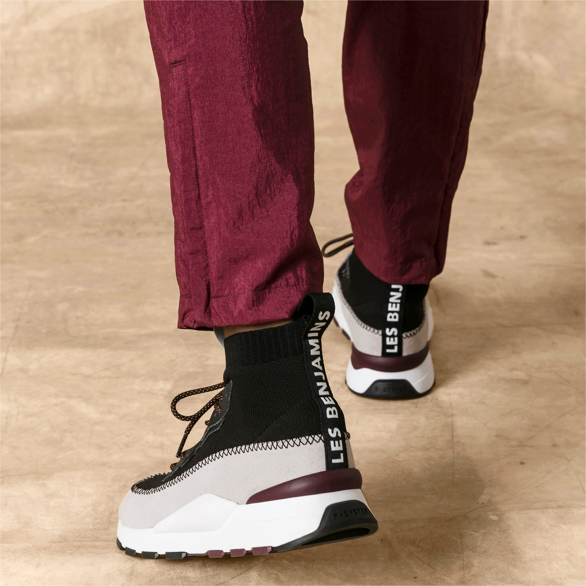 Thumbnail 3 of RS-0 LES BENJAMINS Sneakers, Puma White-Puma Black, medium