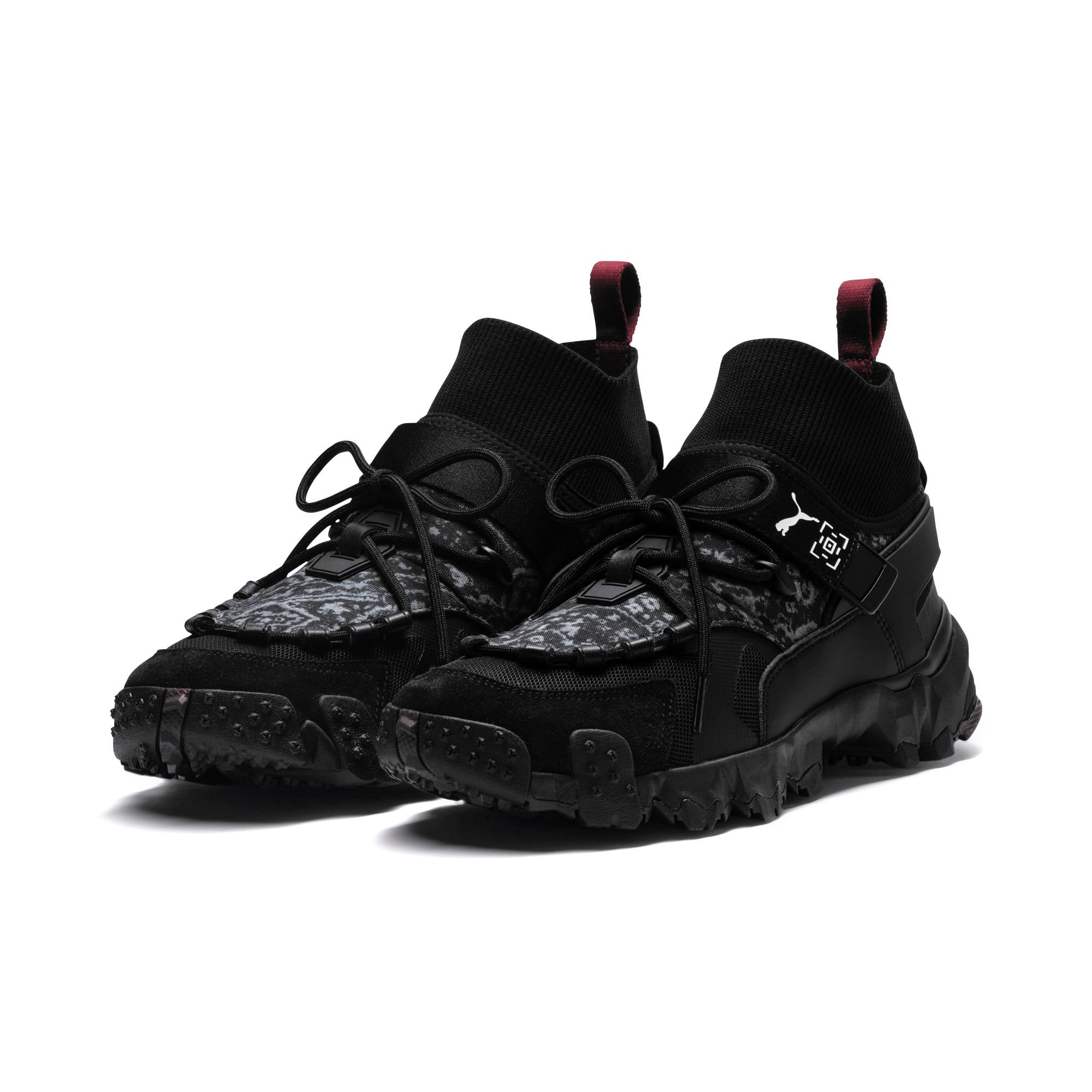 Thumbnail 3 of Basket PUMA x LES BENJAMINS Trailfox, Puma Black, medium