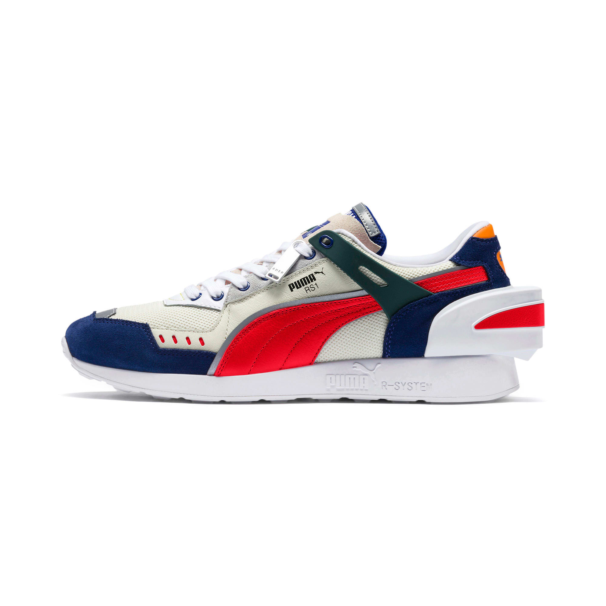 Thumbnail 1 of PUMA x ADER ERROR RS-1 Sneakers, Whisper White-Blueprint-Red, medium