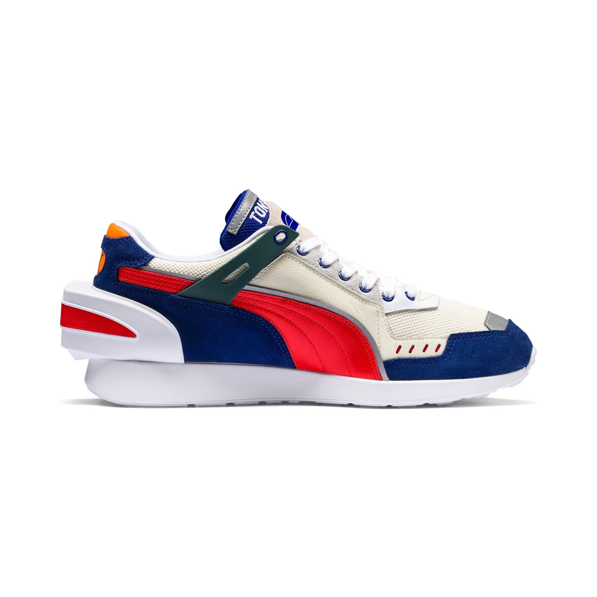 Thumbnail 6 of PUMA x ADER ERROR RS-1 Sneakers, Whisper White-Blueprint-Red, medium