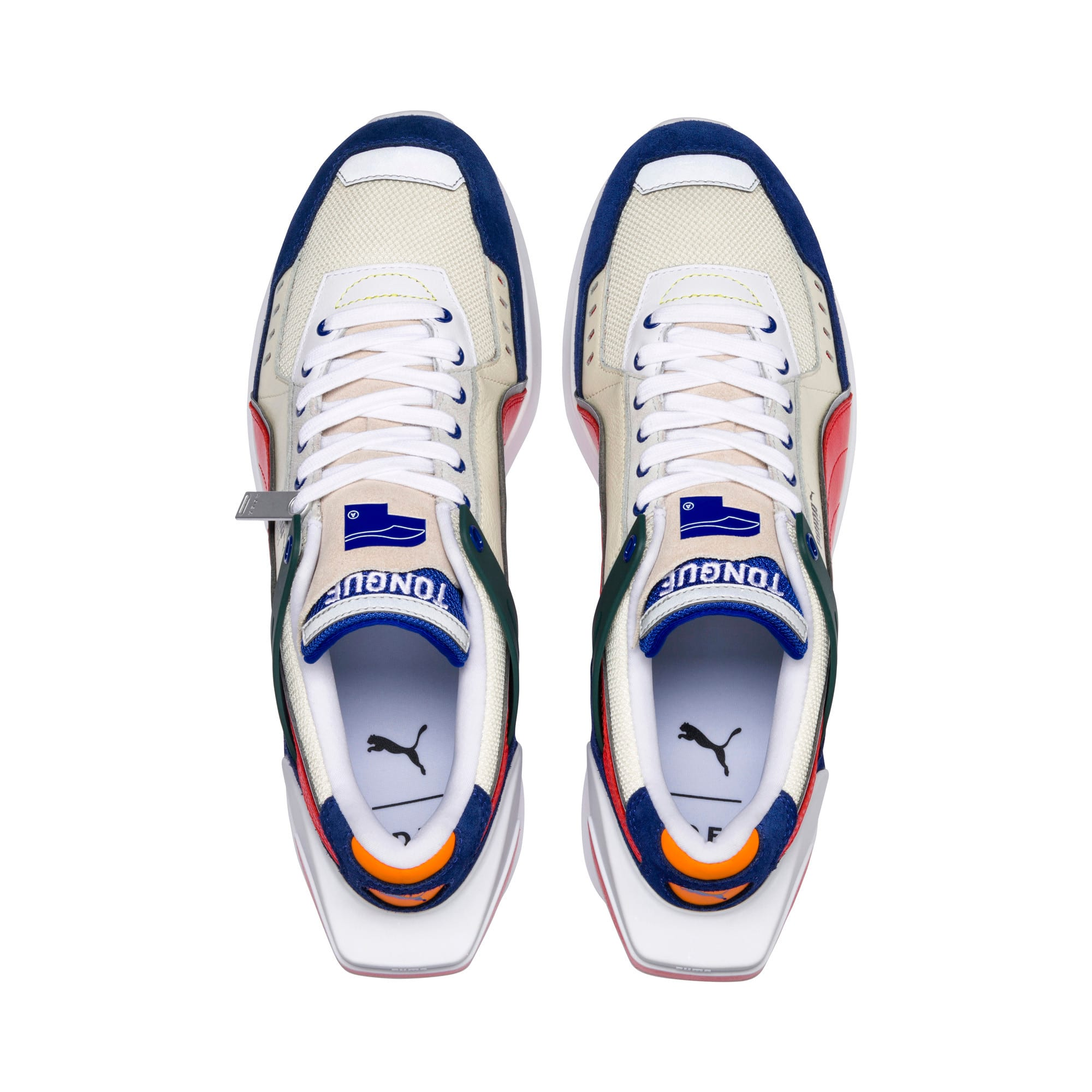 Thumbnail 7 of PUMA x ADER ERROR RS-1 Sneakers, Whisper White-Blueprint-Red, medium
