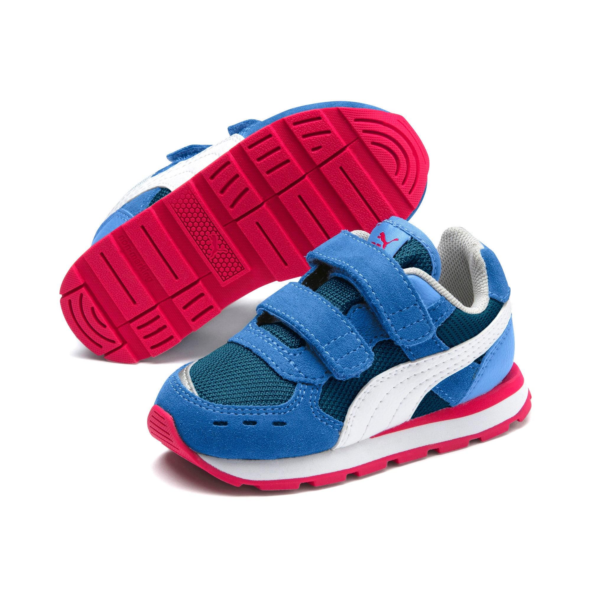 Thumbnail 2 of Vista Toddler Shoes, Ultramarine-Puma White, medium