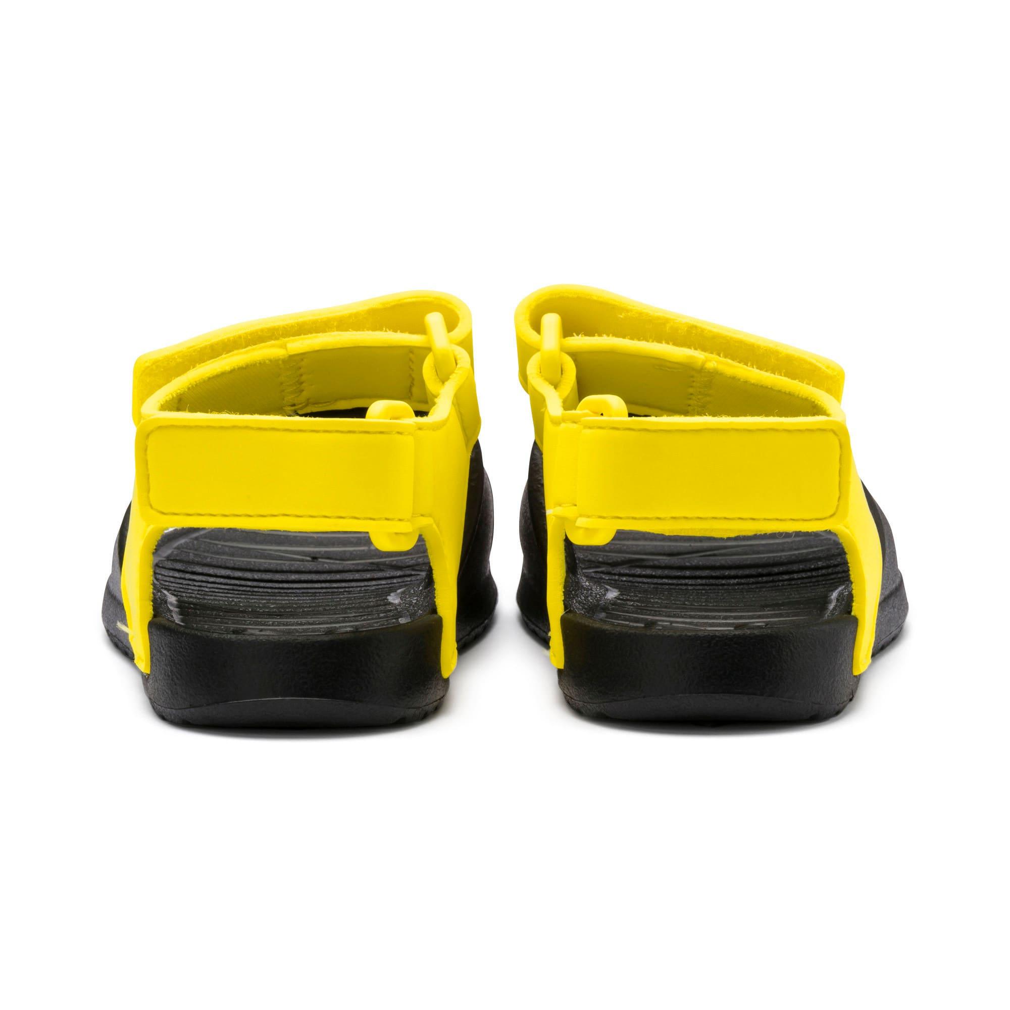 Thumbnail 3 of Divecat v2 Injex Kids' Sandals, Puma Black-Blazing Yellow, medium