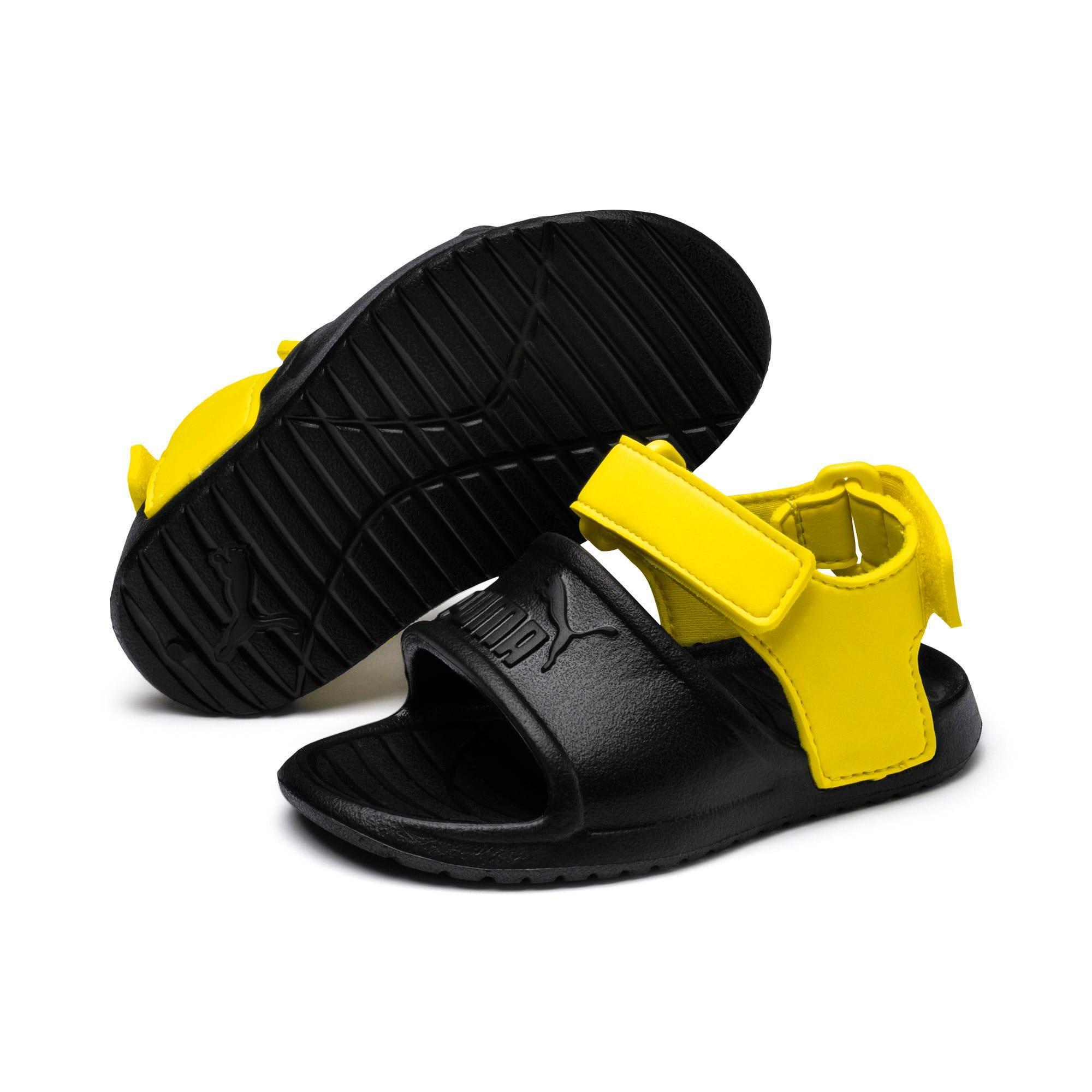 Thumbnail 2 of Divecat v2 Injex Kids' Sandals, Puma Black-Blazing Yellow, medium