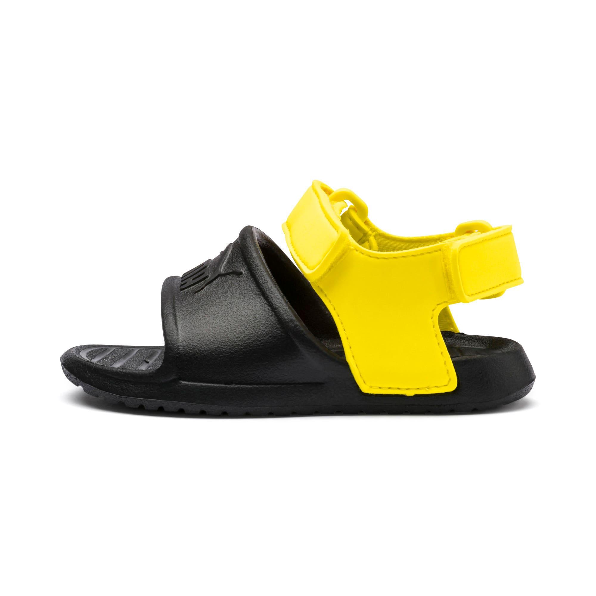Thumbnail 1 of Divecat v2 Injex Kids' Sandals, Puma Black-Blazing Yellow, medium