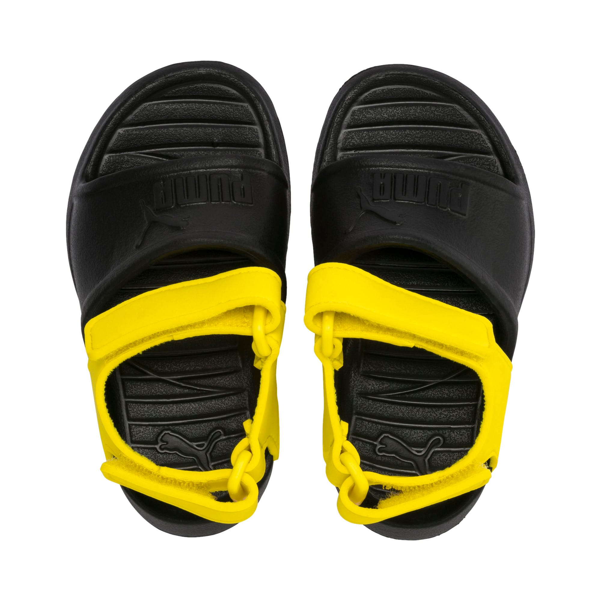 Thumbnail 6 of Divecat v2 Injex Kids' Sandals, Puma Black-Blazing Yellow, medium