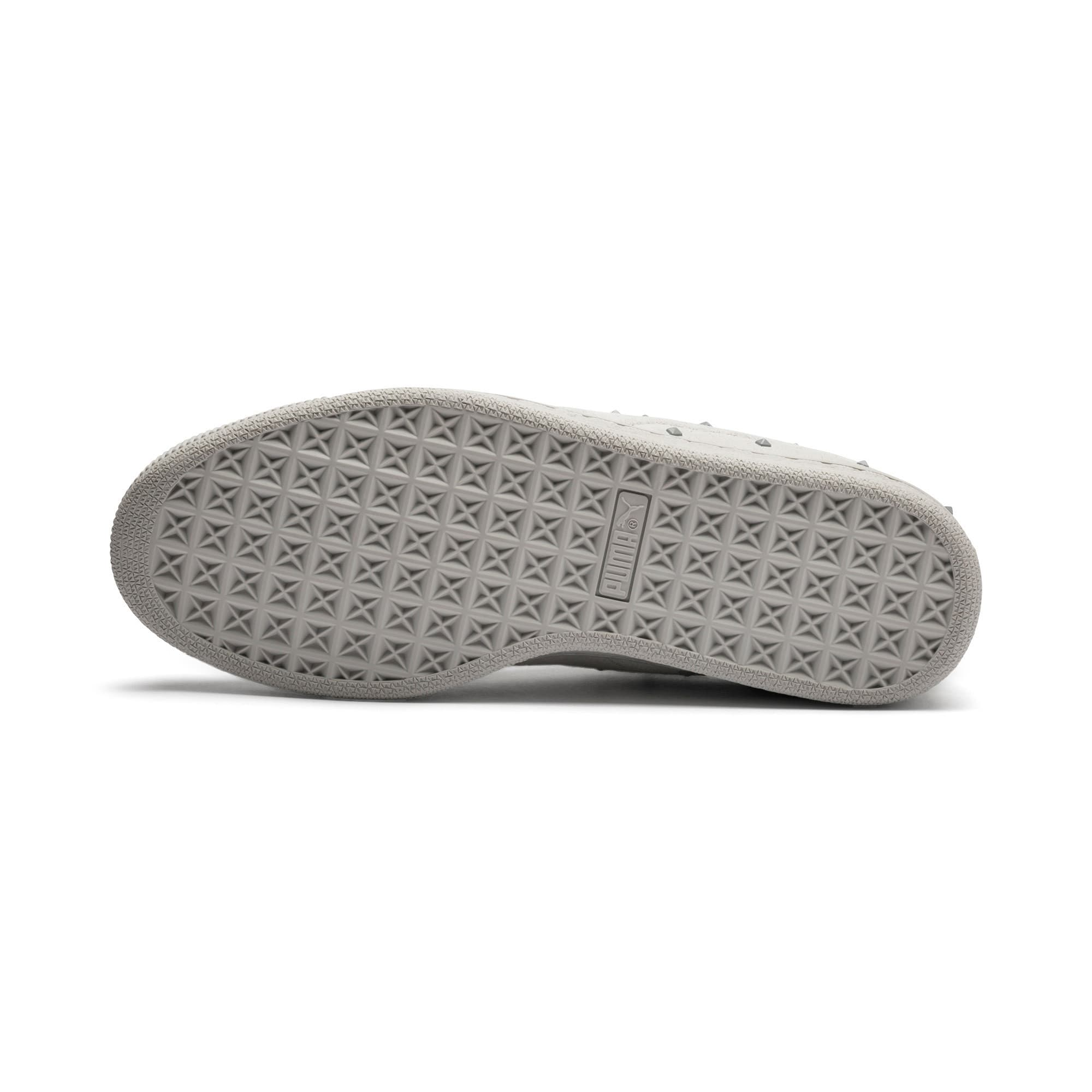 Thumbnail 5 of Suede Studs Women's Trainers, Gray Violet-Puma White, medium