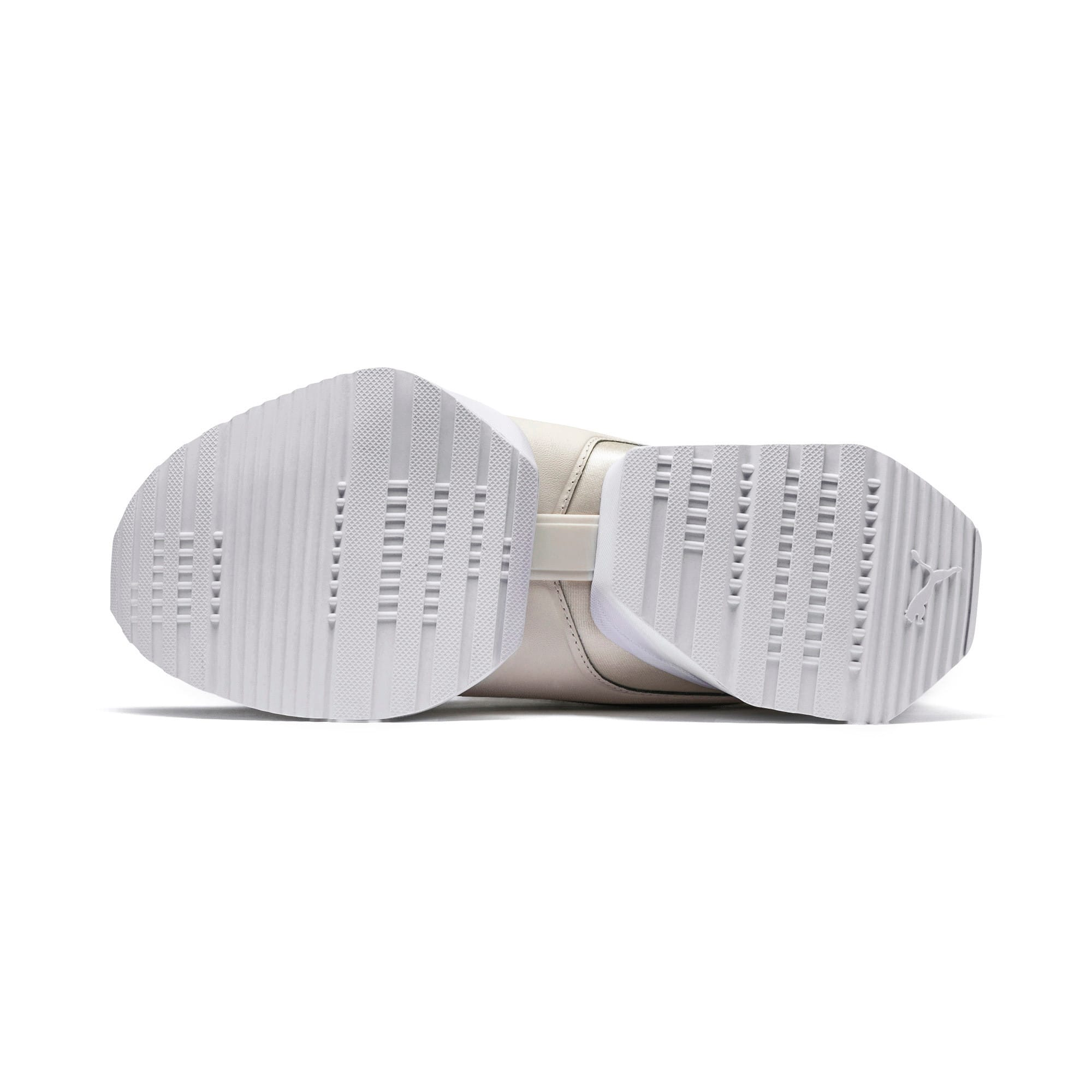 Thumbnail 5 of Muse Maia Knit Premium Women's Trainers, Whisper White-Puma White, medium
