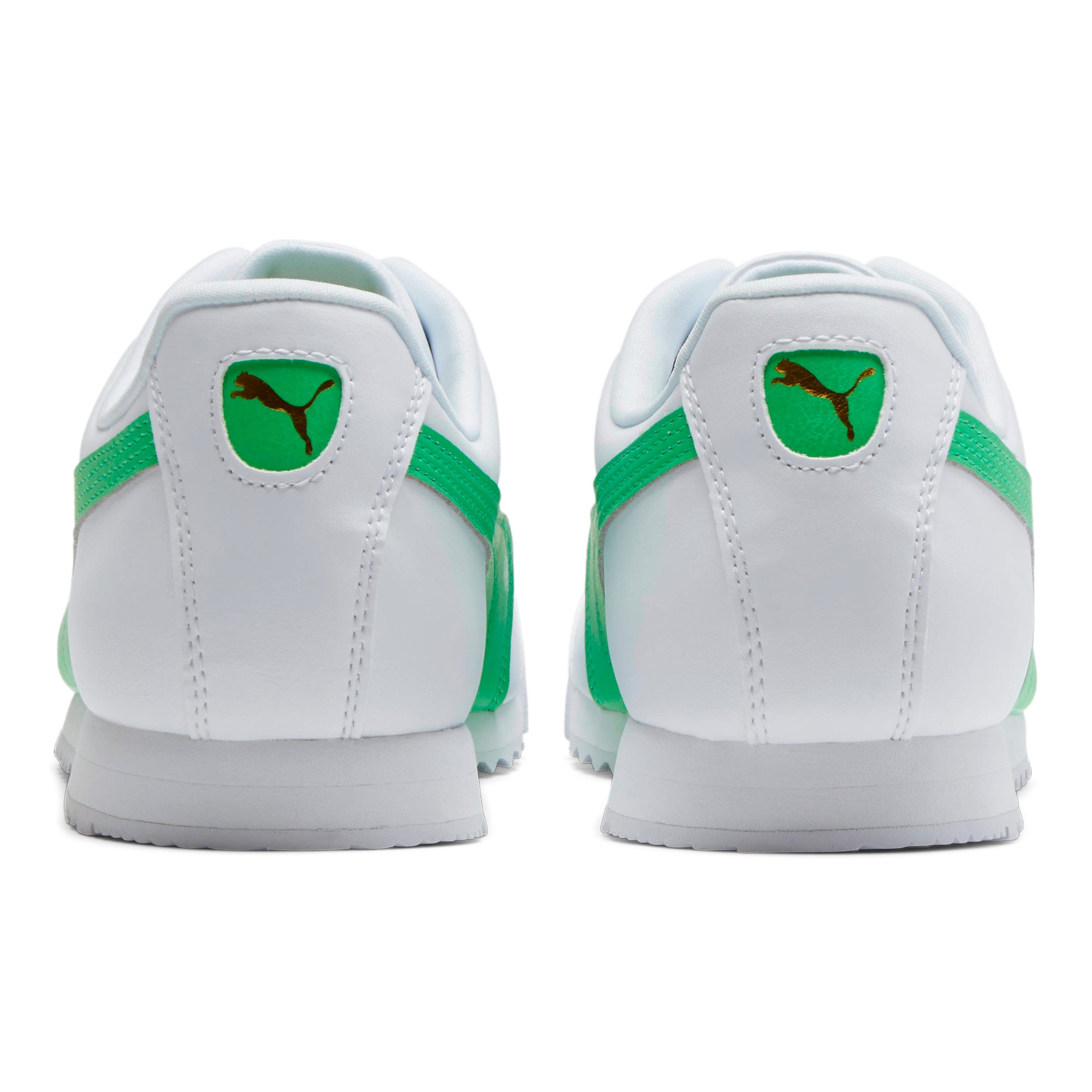 Miniatura 3 de Zapatos deportivos Roma Basic +, Puma White-Irish Green, mediano