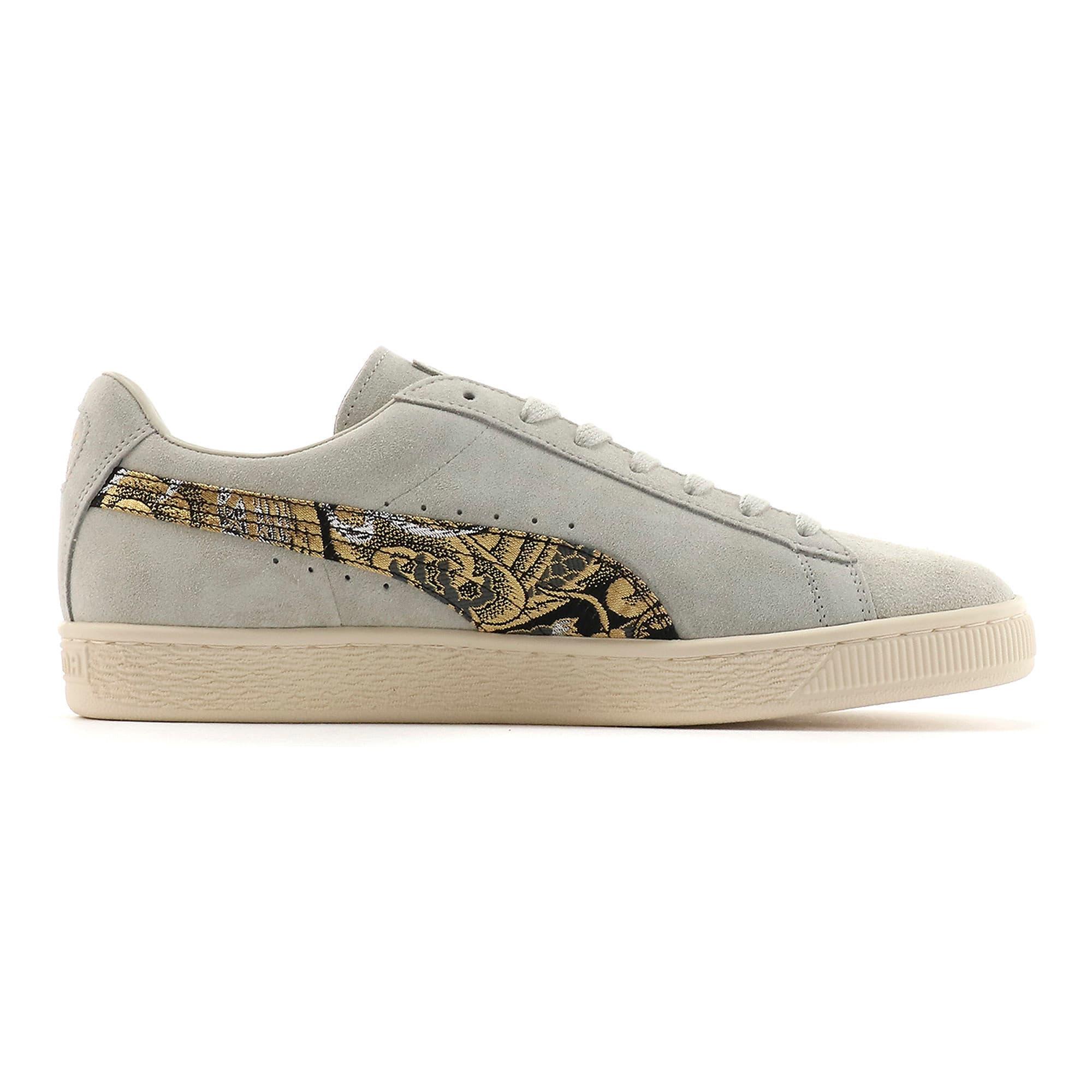 Thumbnail 5 of Suede MIJ Sneakers, Glacier Gray-Puma Black, medium